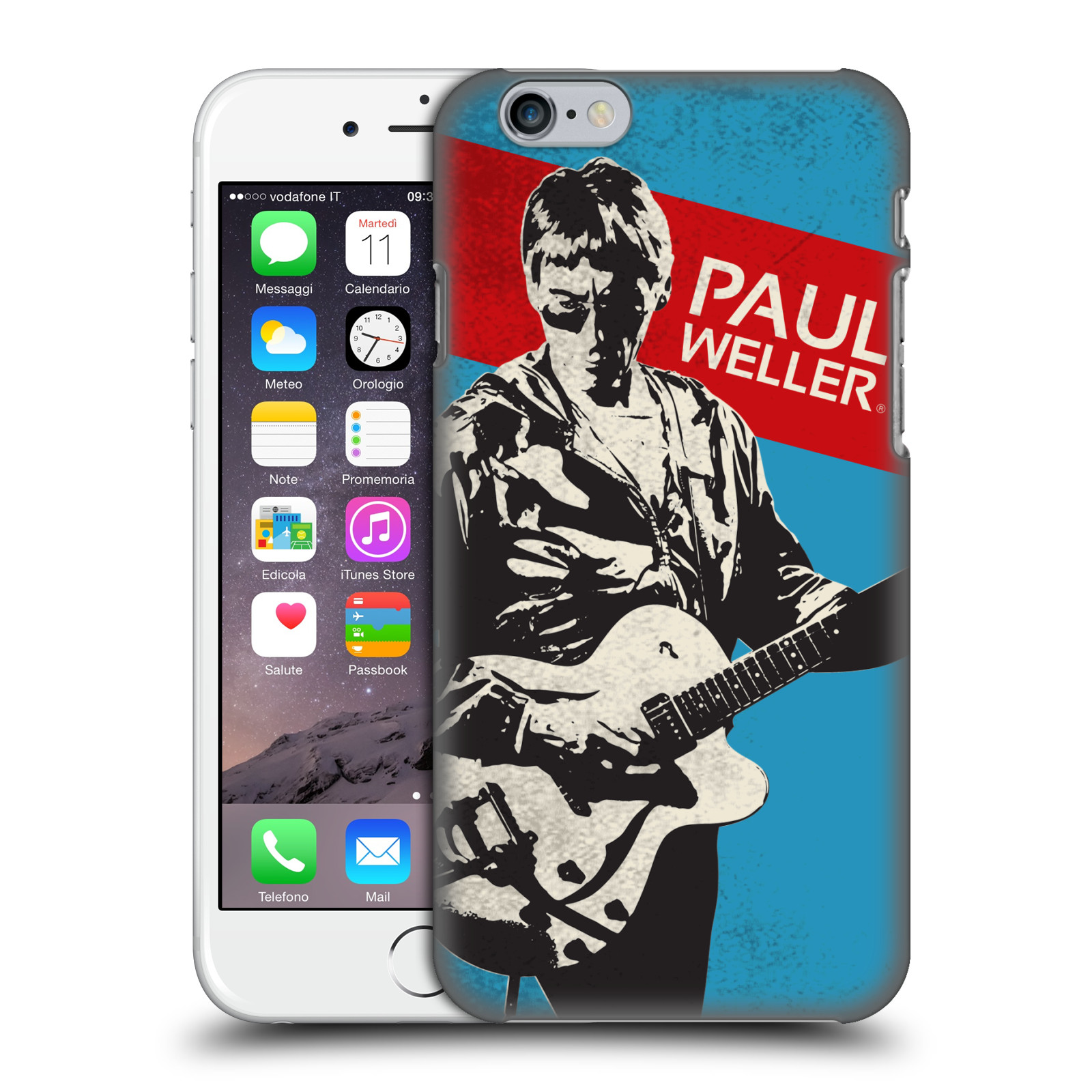 Official The Jam Key Art Paul Weller Case for Apple iPhone 6 / iPhone 6s