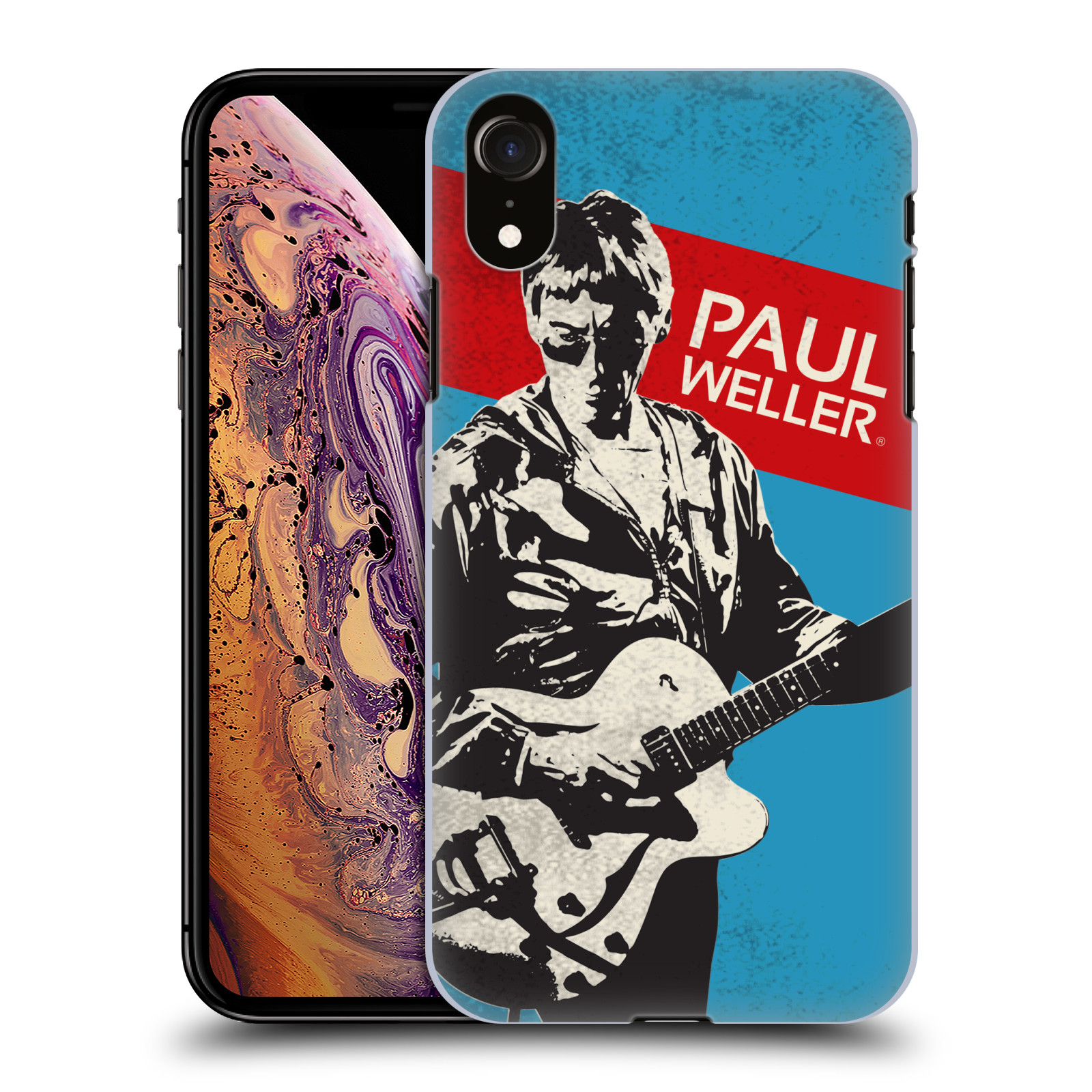 Official The Jam Key Art Paul Weller Case for Apple iPhone XR