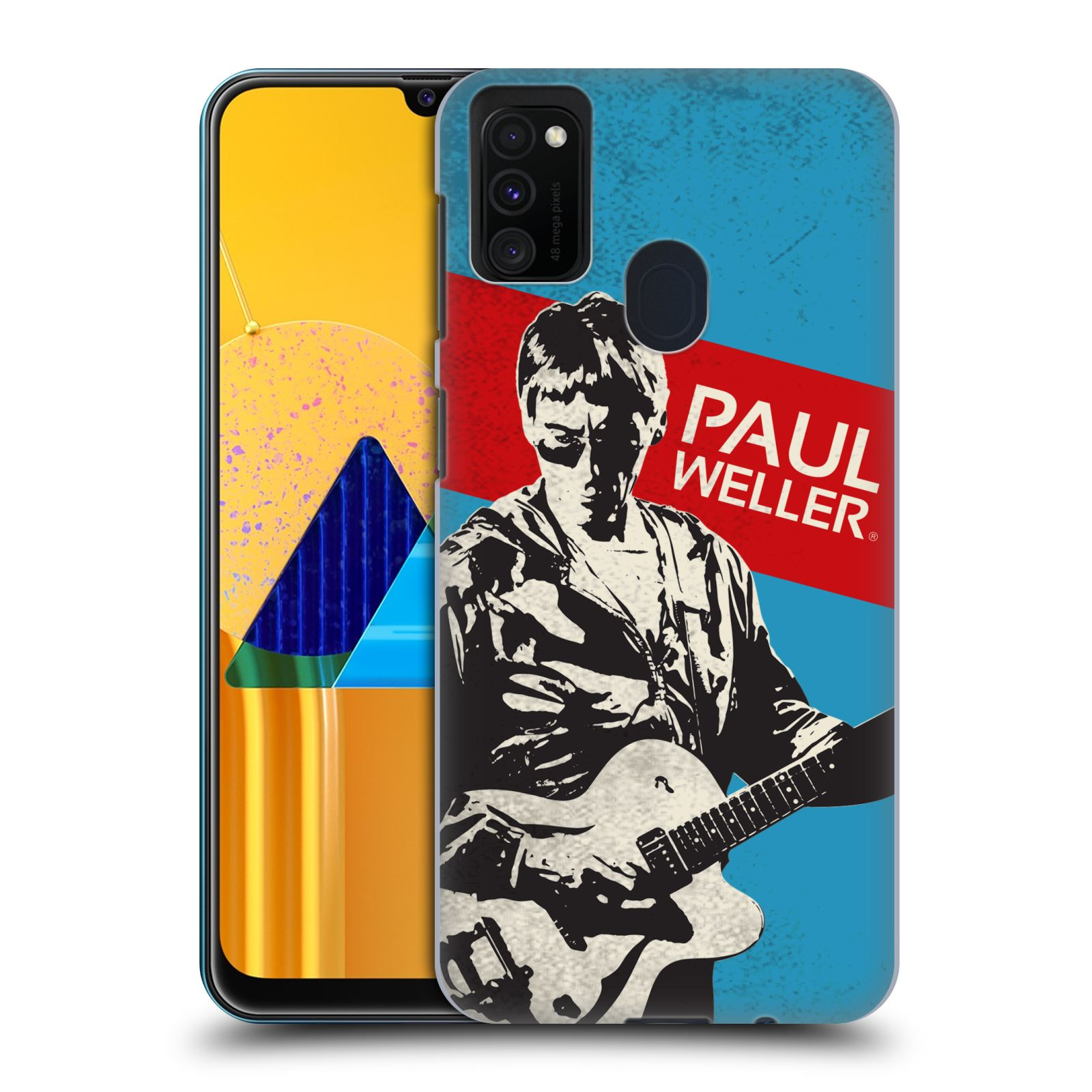 Official The Jam Key Art Paul Weller Case for Samsung Galaxy M30s (2019)