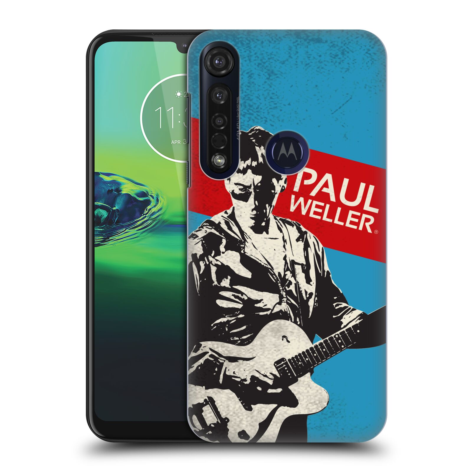 Official The Jam Key Art Paul Weller Case for Motorola Moto G8 Plus