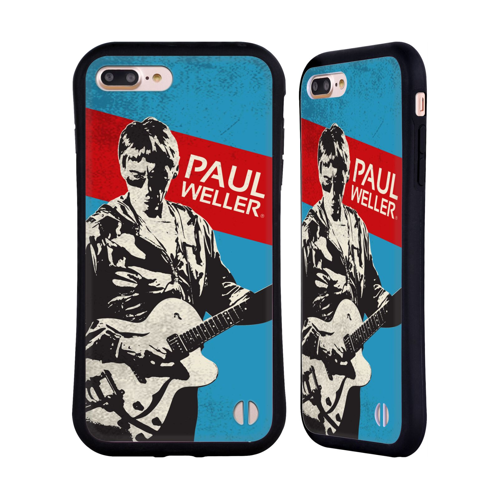 Official The Jam Key Art Paul Weller Hybrid Case for Apple iPhone 7 Plus / iPhone 8 Plus