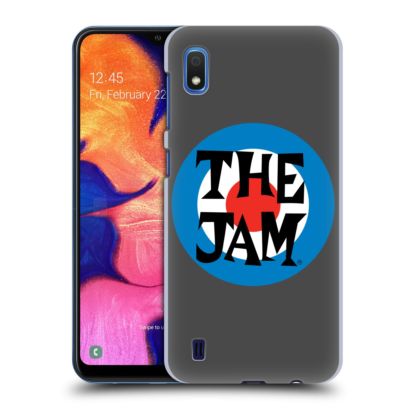 Official The Jam Key Art Target Logo Case for Samsung Galaxy A10 (2019)