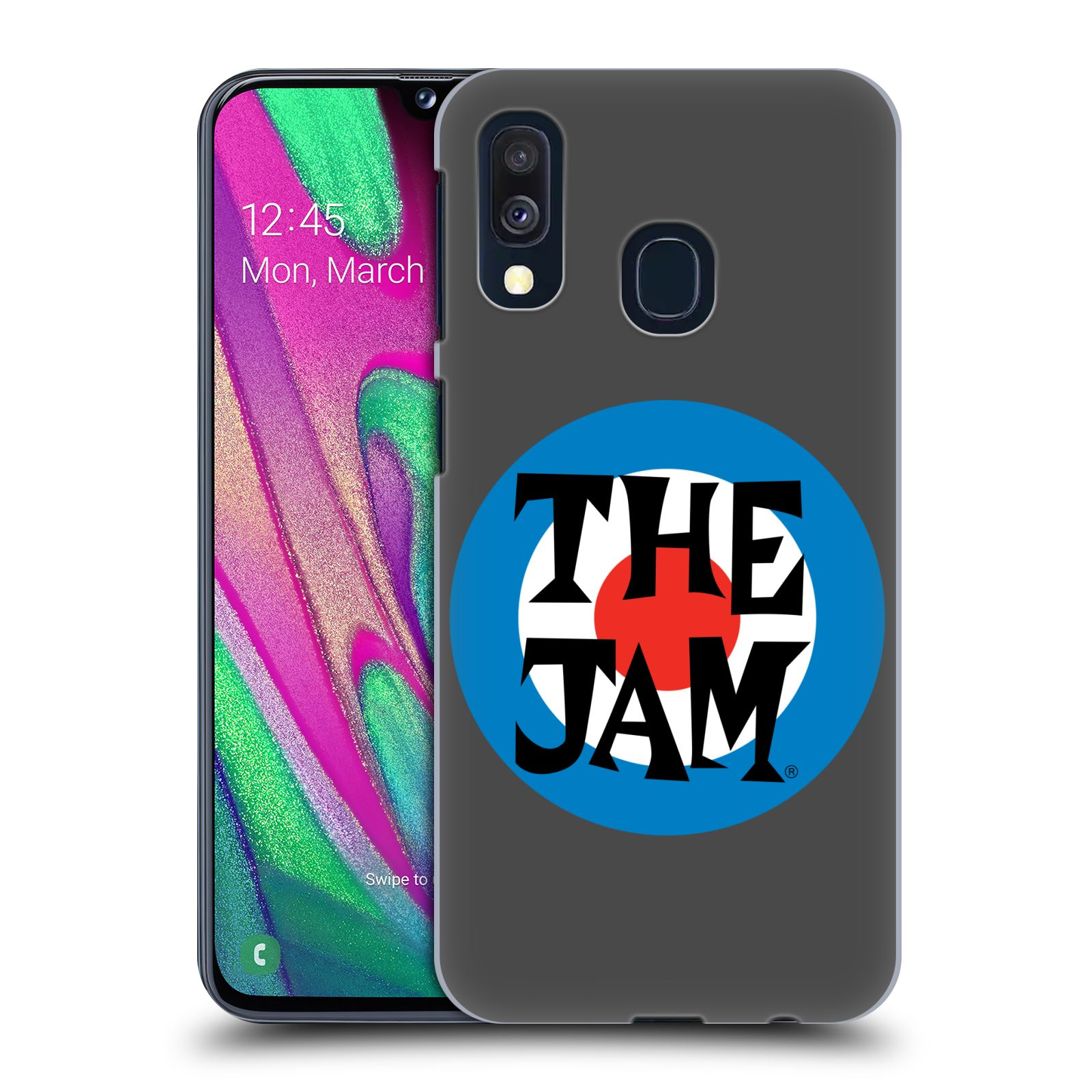 Official The Jam Key Art Target Logo Case for Samsung Galaxy A40 (2019)