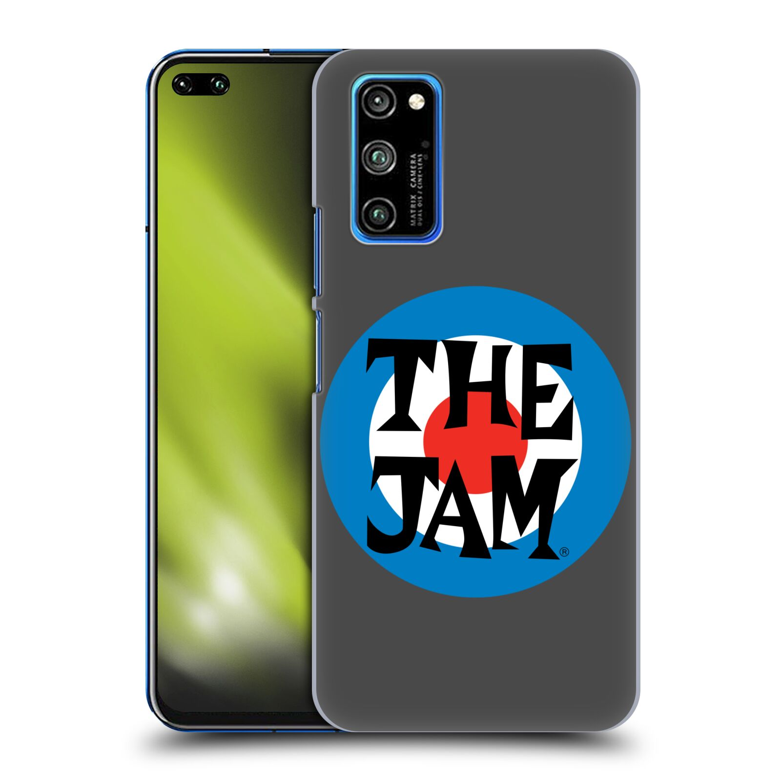 Official The Jam Key Art Target Logo Case for Huawei Honor V30 Pro / View 30 Pro