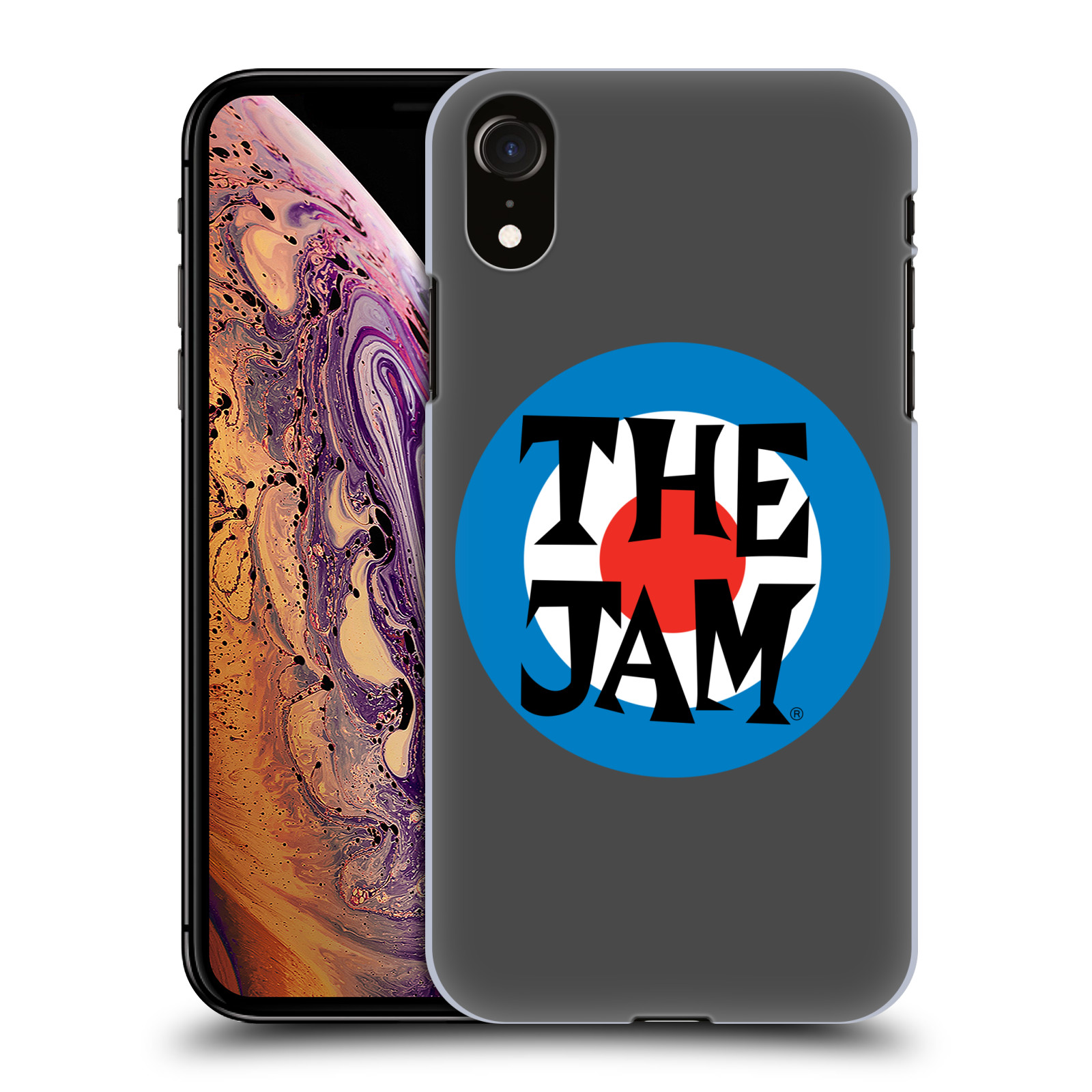Official The Jam Key Art Target Logo Case for Apple iPhone XR