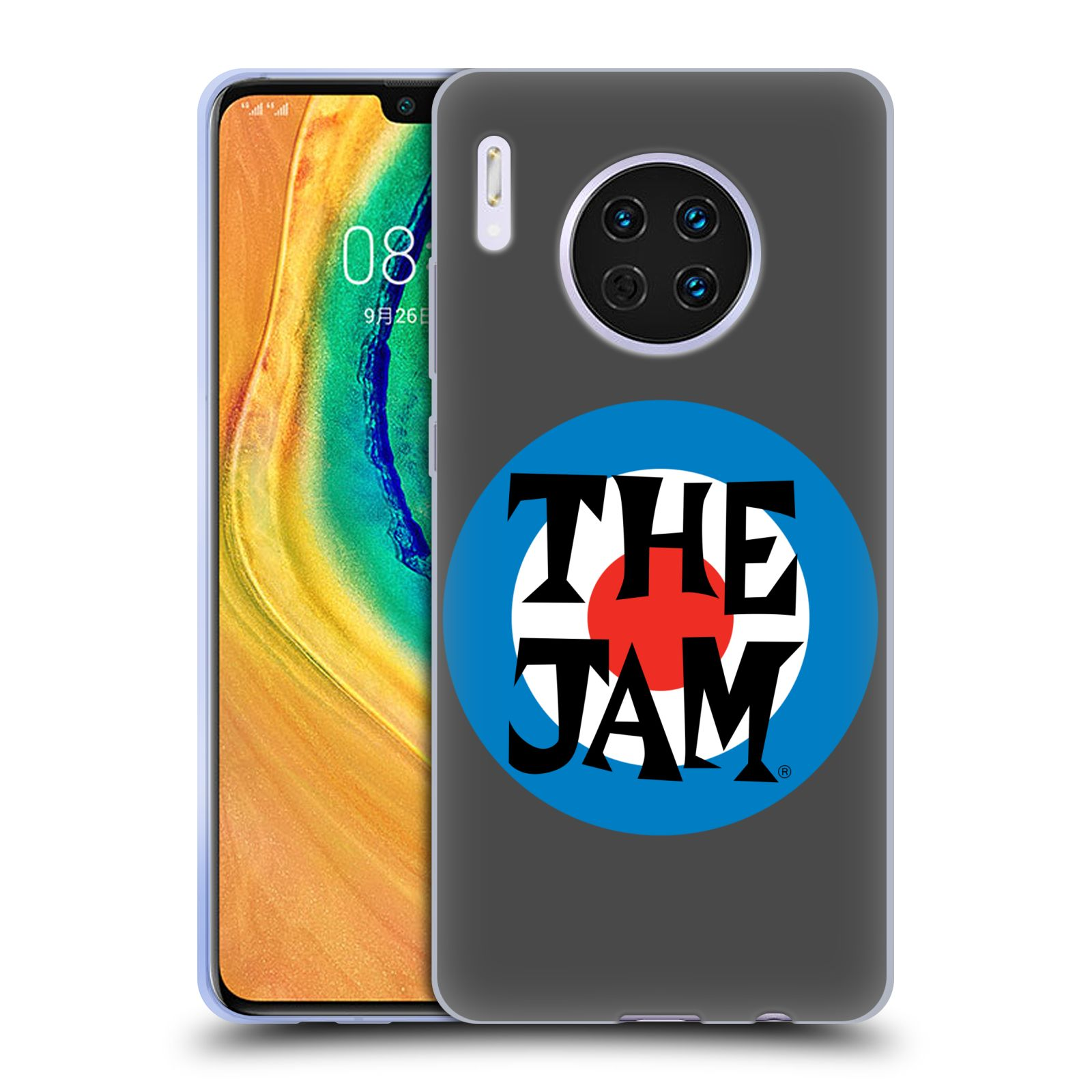 Official The Jam Key Art Target Logo Case for Huawei Mate 30