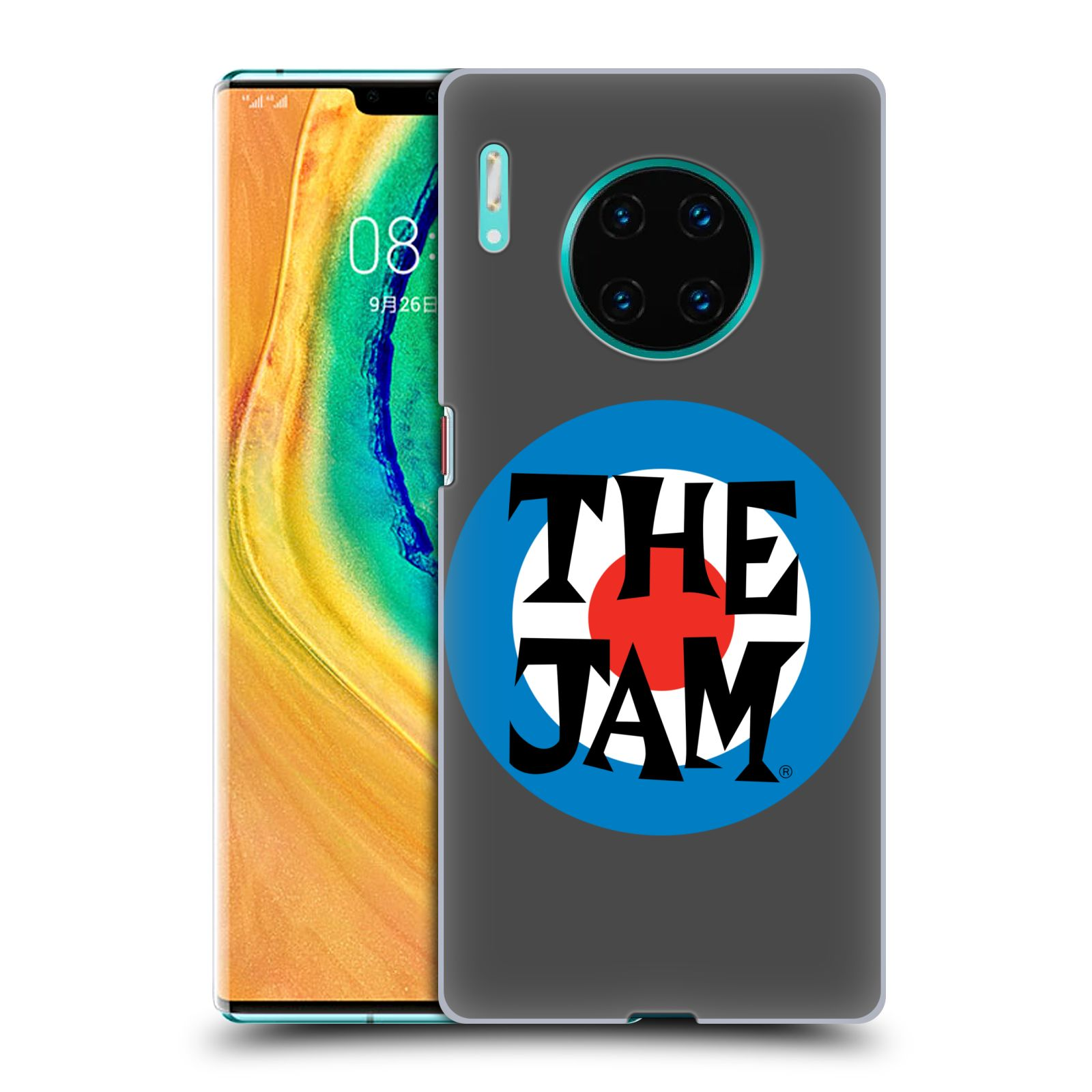Official The Jam Key Art Target Logo Case for Huawei Mate 30 Pro / 5G