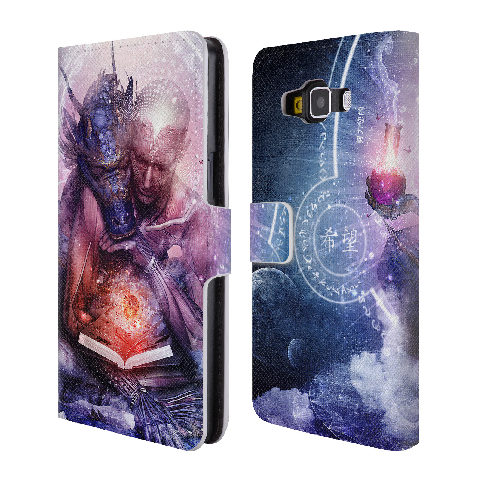 OFFICIAL-CAMERON-GRAY-GODS-LEATHER-BOOK-WALLET-CASE-COVER-FOR-SAMSUNG-PHONES-2