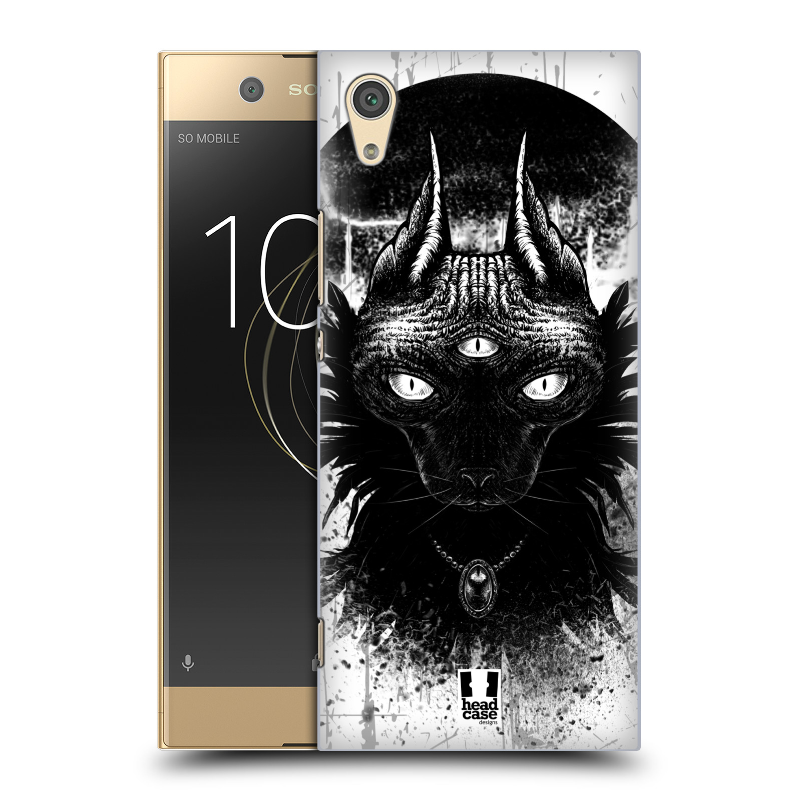 HEAD-CASE-DESIGNS-CATS-OF-GOTH-HARD-BACK-CASE-FOR-SONY-PHONES-1