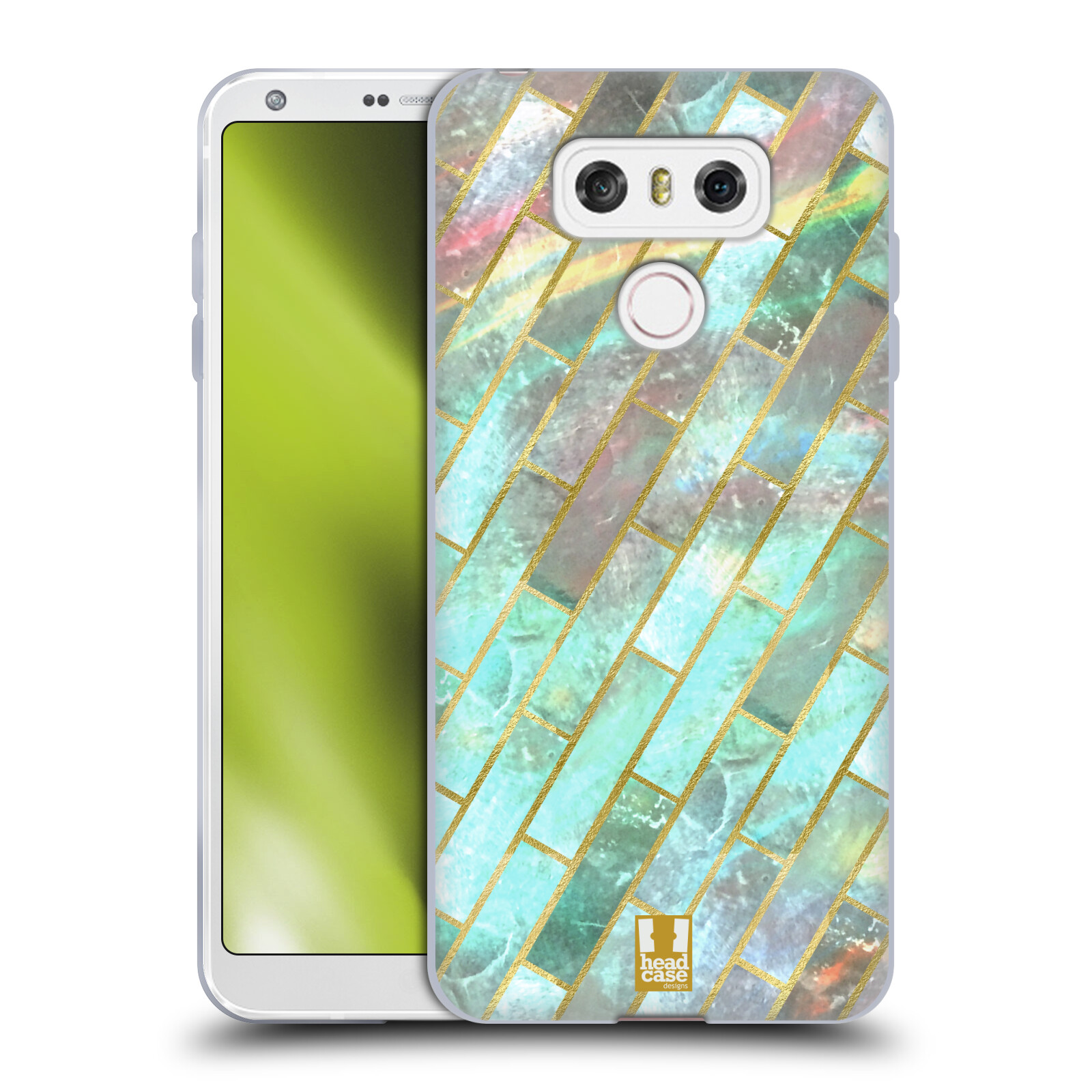Funda-HEAD-CASE-DESIGNS-CON-CLASE-Capiz-impresiones-Gel-Suave-Estuche-para-los-telefonos-LG-1
