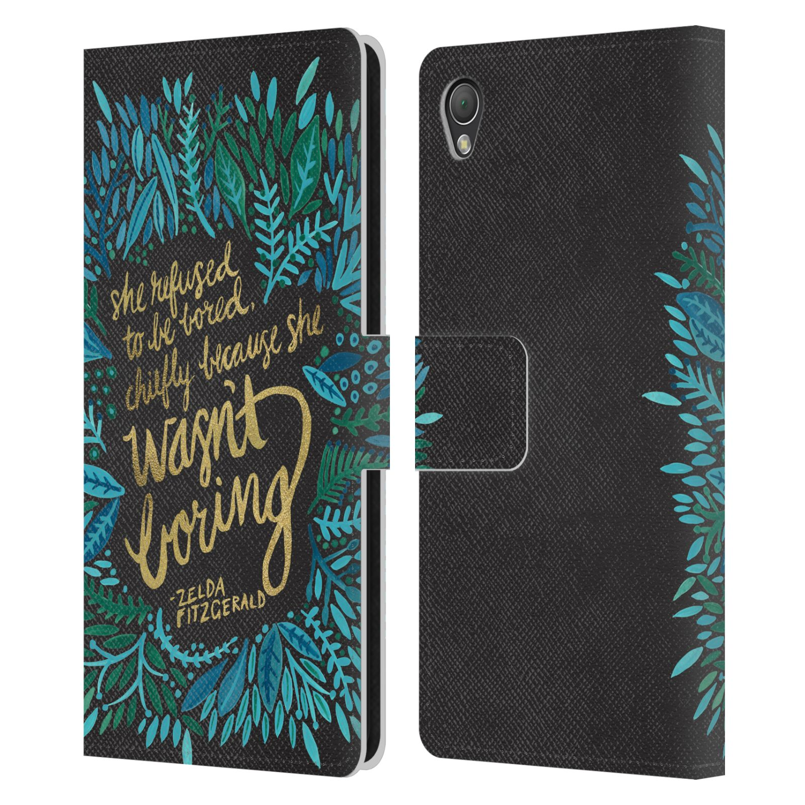 OFFICIAL-CAT-COQUILLETTE-CALLIGRAPHY-LEATHER-BOOK-WALLET-CASE-FOR-SONY-PHONES-1