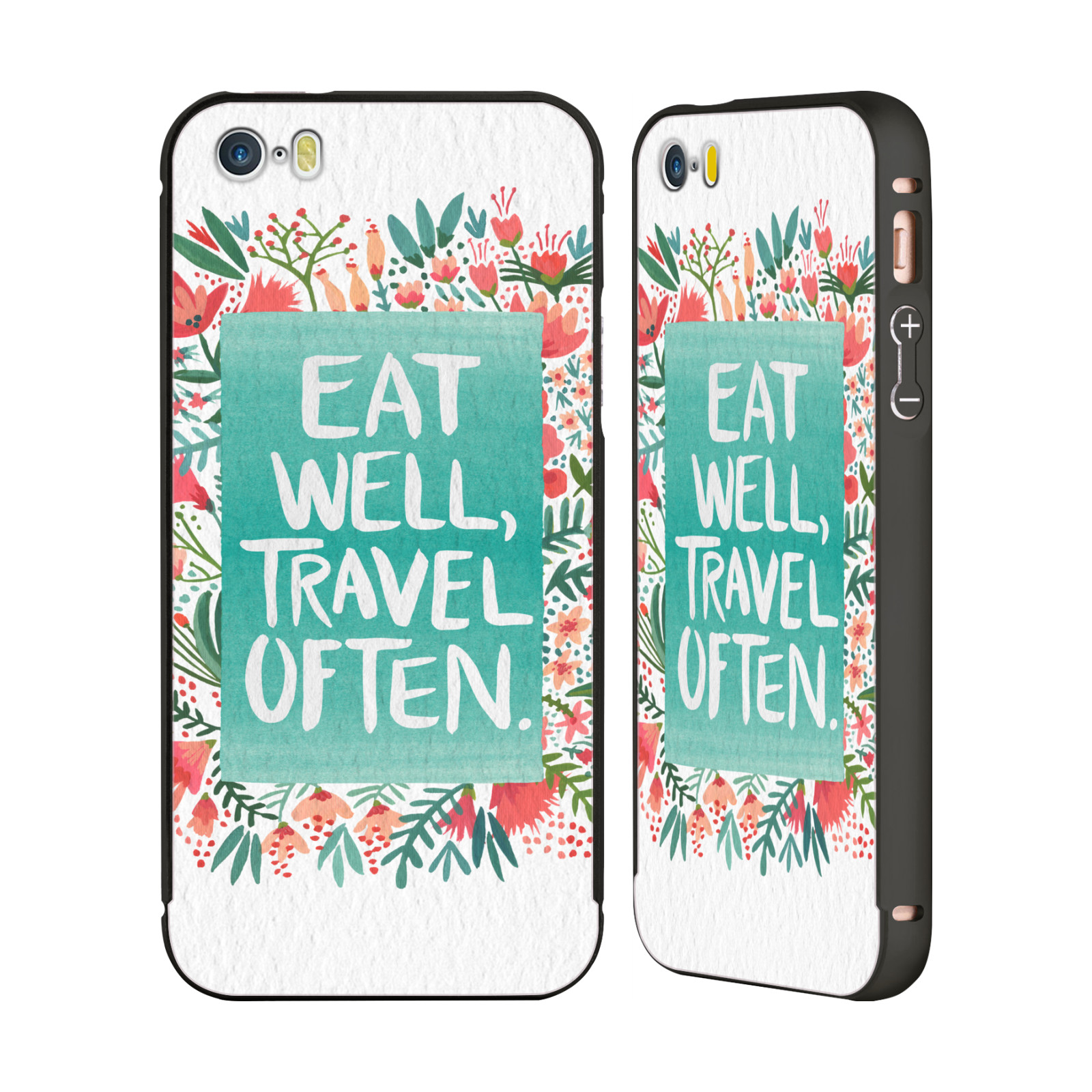CAT-COQUILLETTE-QUOTES-TYPOGRAPHY-3-BLACK-SLIDER-CASE-FOR-APPLE-iPHONE-PHONES