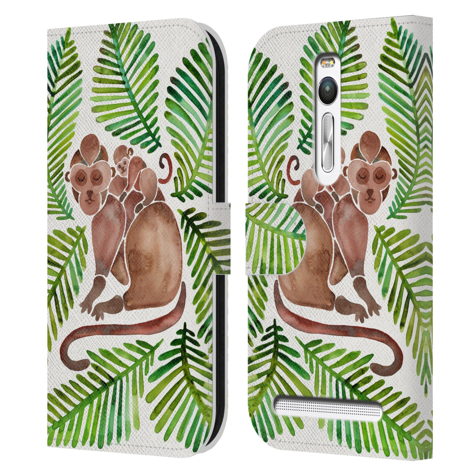 OFFICIAL-CAT-COQUILLETTE-TROPICAL-LEATHER-BOOK-CASE-FOR-ASUS-ZENFONE-PHONES