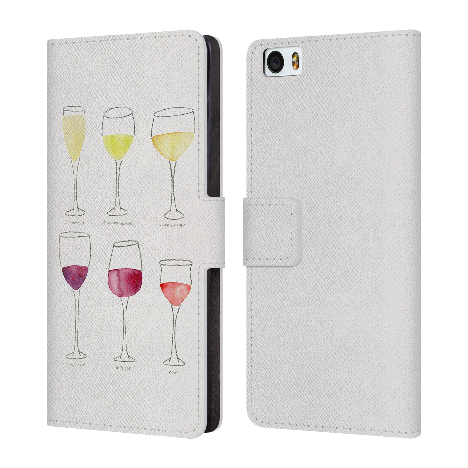 OFFICIAL-CAT-COQUILLETTE-WINE-LEATHER-BOOK-WALLET-CASE-COVER-FOR-XIAOMI-PHONES