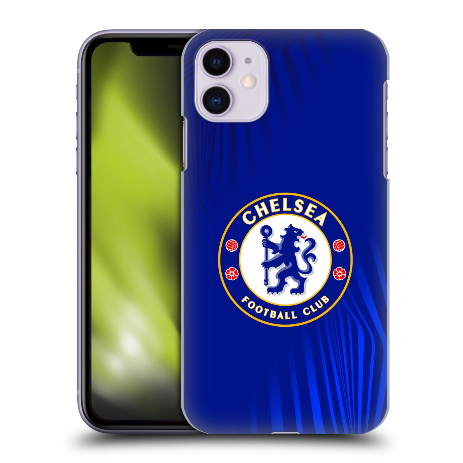 Offizielle Chelsea Football Club 2019/20 Crest Super Grafik Hülle für Apple iPhone 11