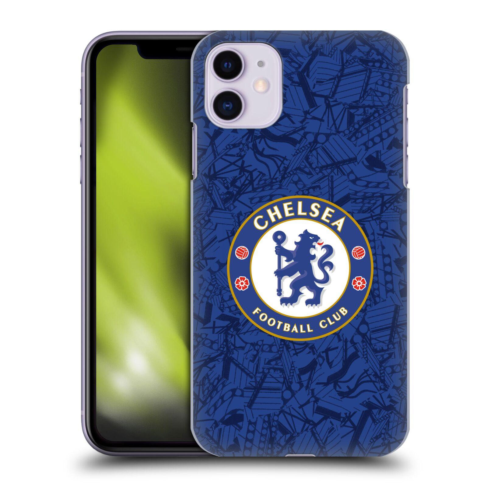 Offizielle Chelsea Football Club 2019/20 Kit Home Hülle für Apple iPhone 11