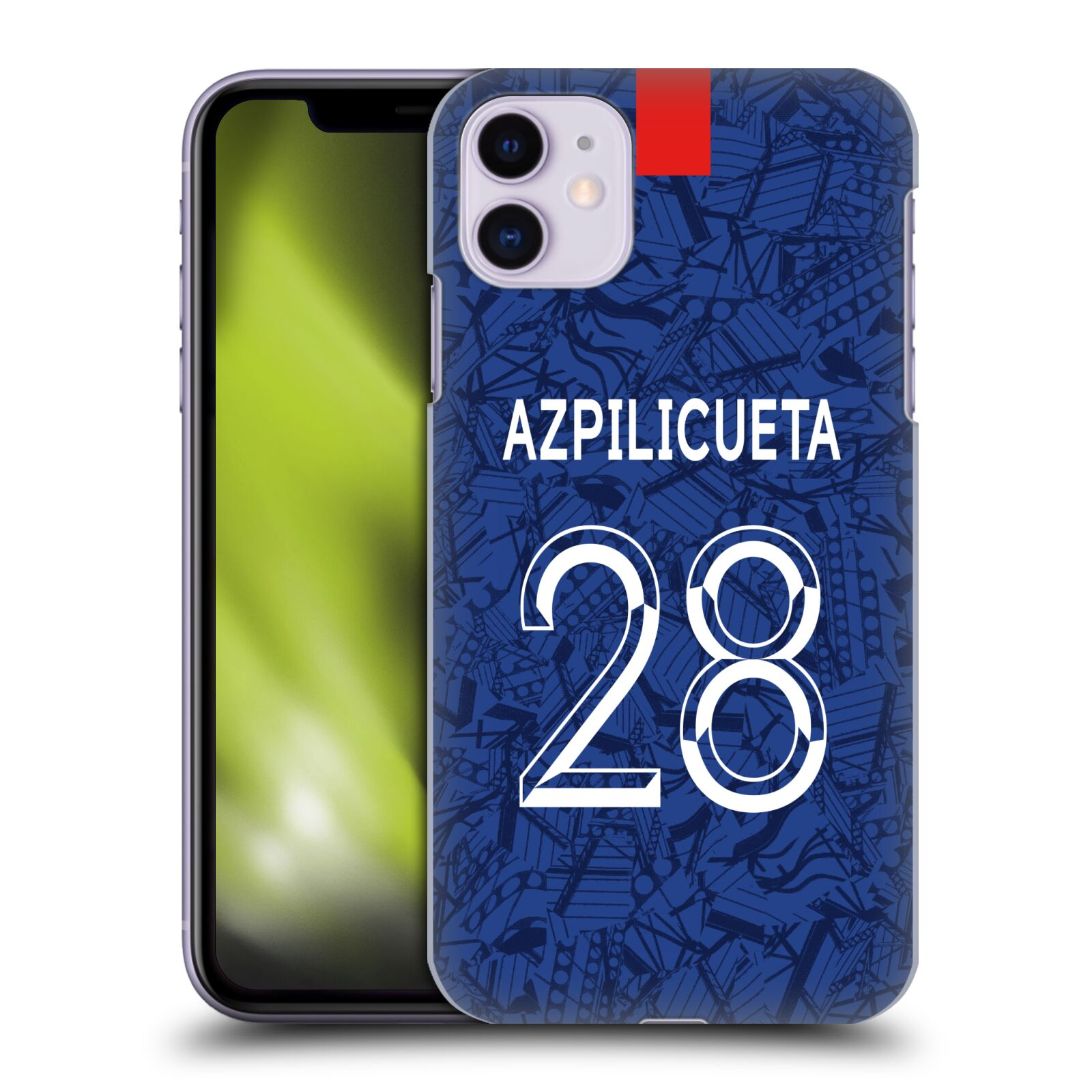 Offizielle Chelsea Football Club 2019/20 SPIELER HOME KIT GROUP 1 César Azpilicueta Hülle für Apple iPhone 11