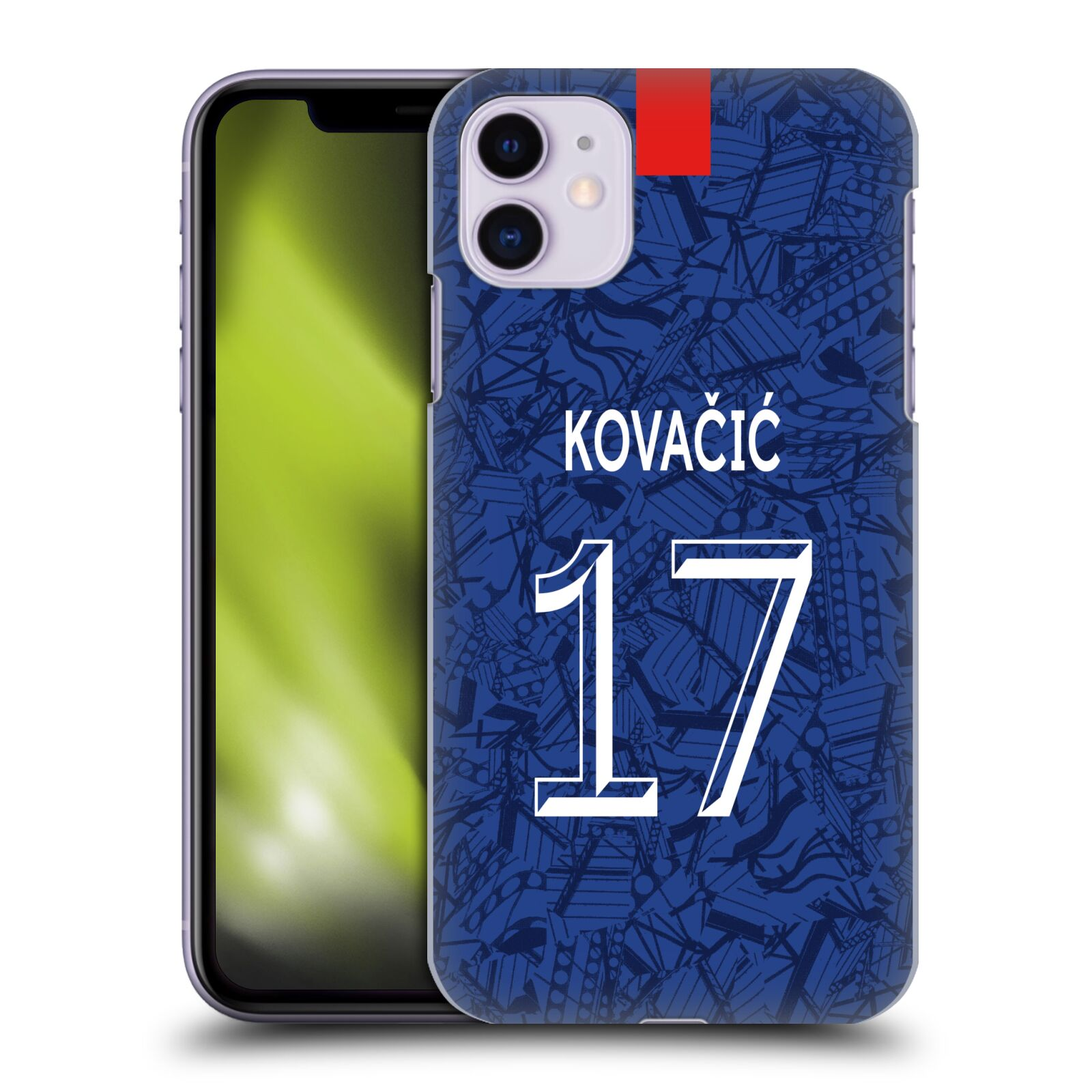 Offizielle Chelsea Football Club 2019/20 SPIELER HOME KIT GROUP 2 Mateo Kovacic Hülle für Apple iPhone 11