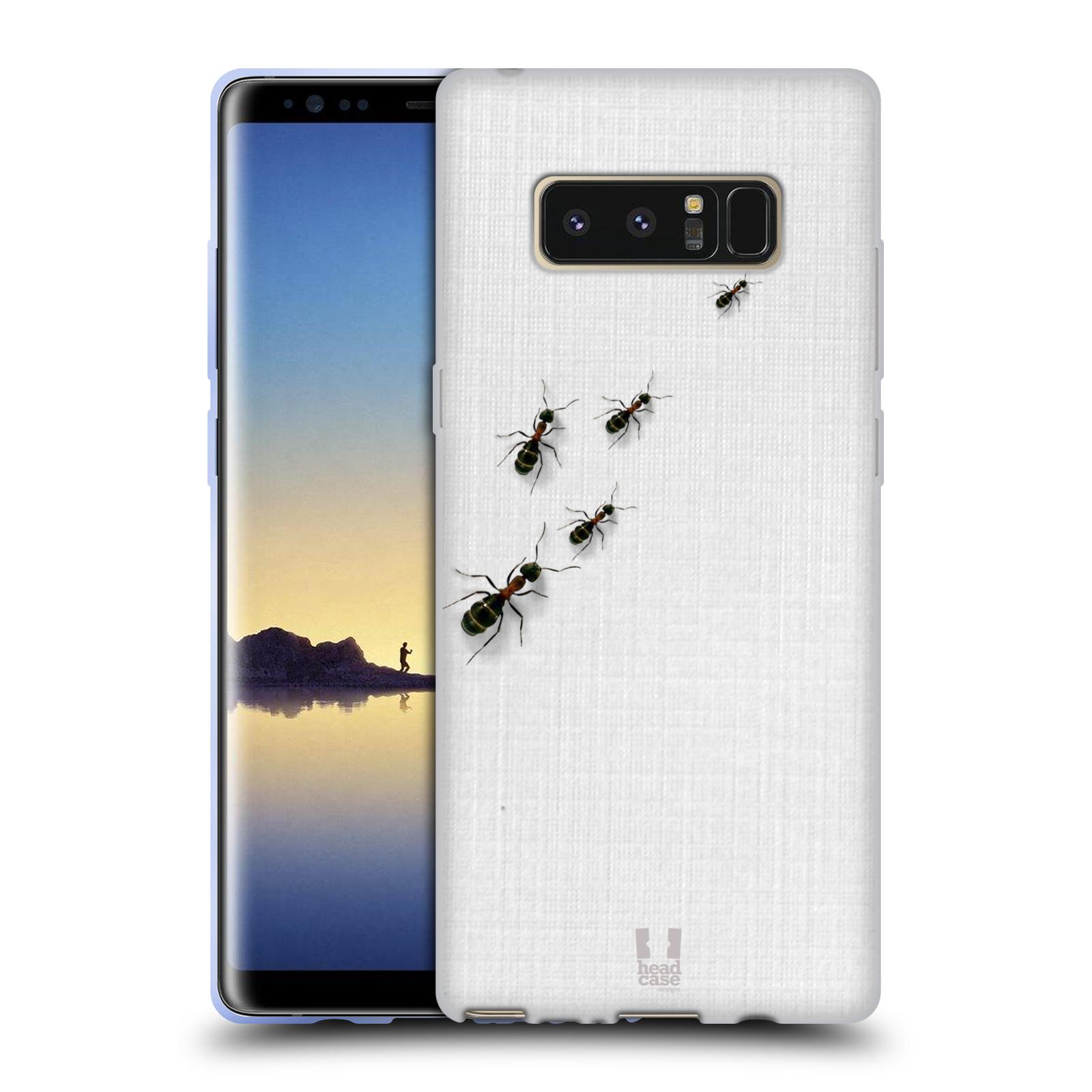 Funda HEAD CASE DESIGNS Camaleón suave Gel caso para Samsung Galaxy Note 8