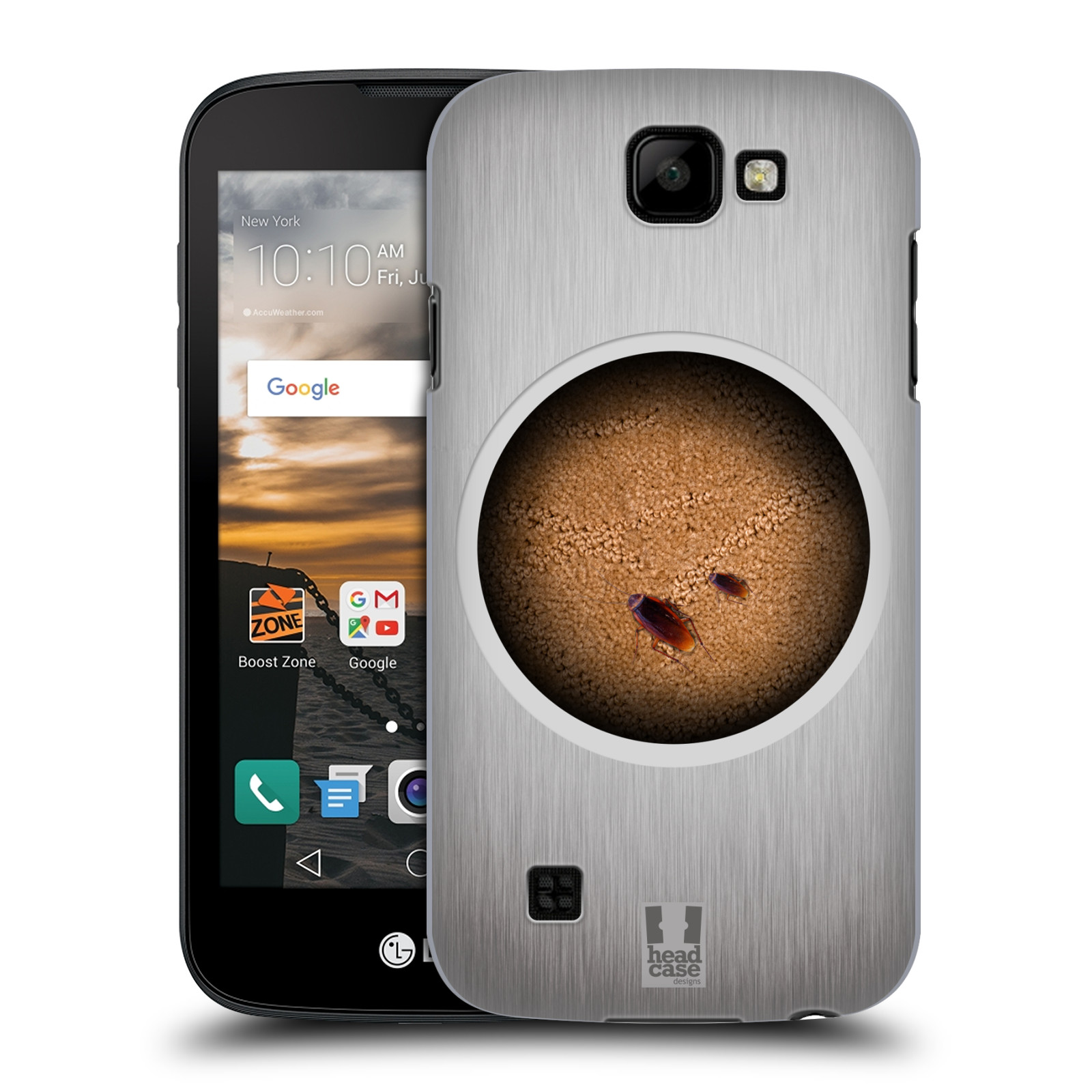 Funda trasera rígida Diseños Camaleón HEAD caso para LG K3