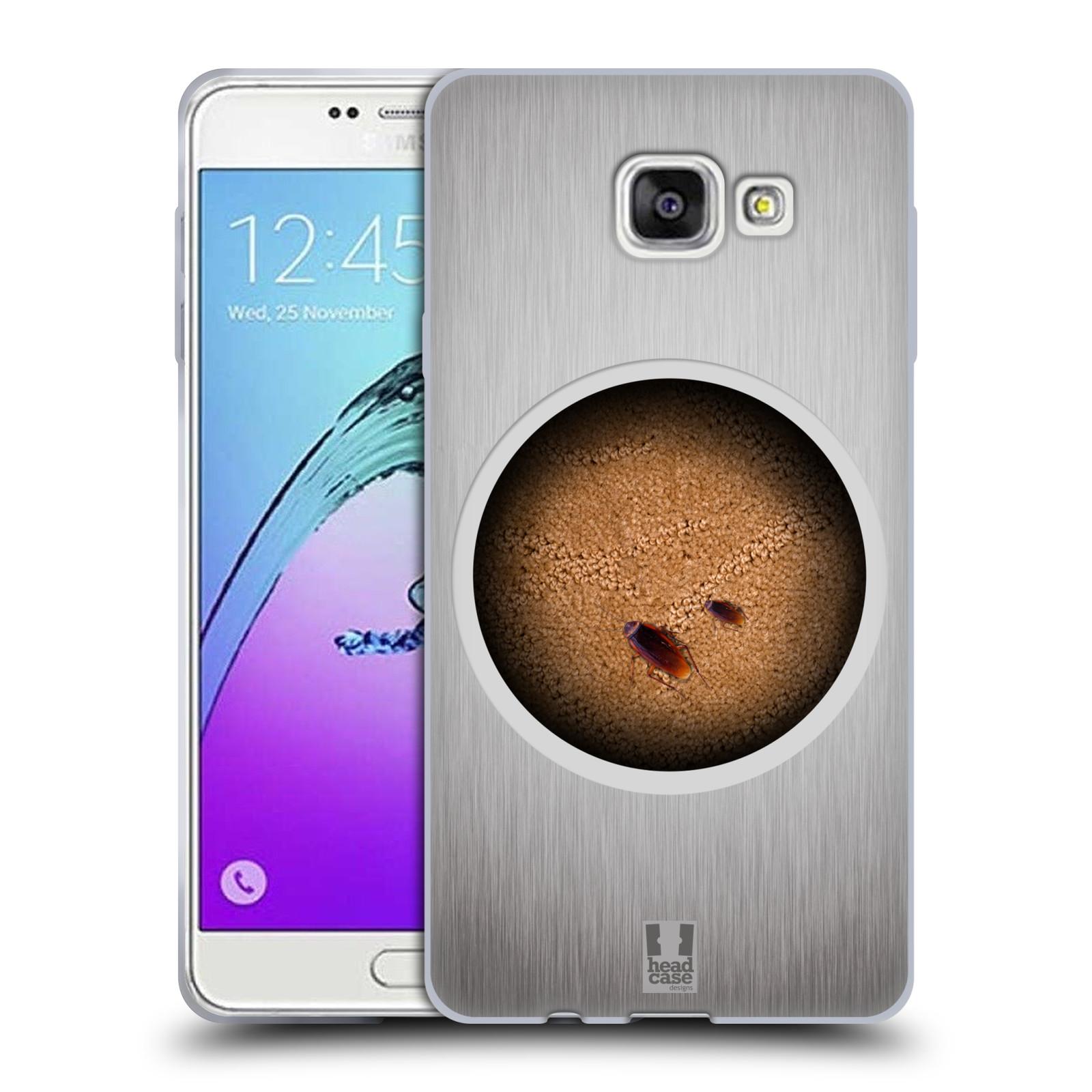 Funda HEAD CASE DESIGNS Camaleón Gel Suave Estuche Para Samsung Galaxy A7 (2017)
