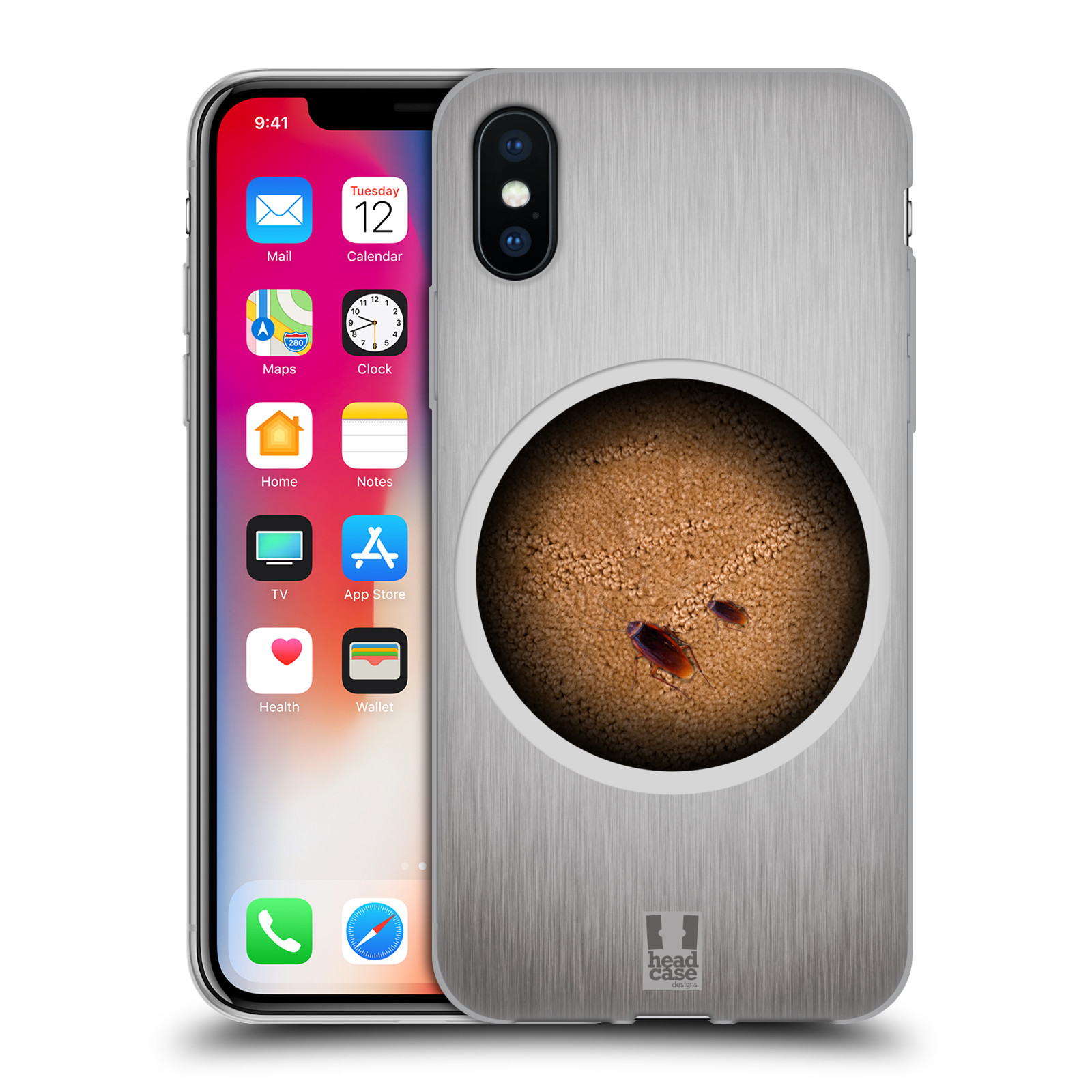HEAD CASE DESIGNS CHAMÄLEON SOFT GEL HÜLLE FÜR APPLE iPHONE X