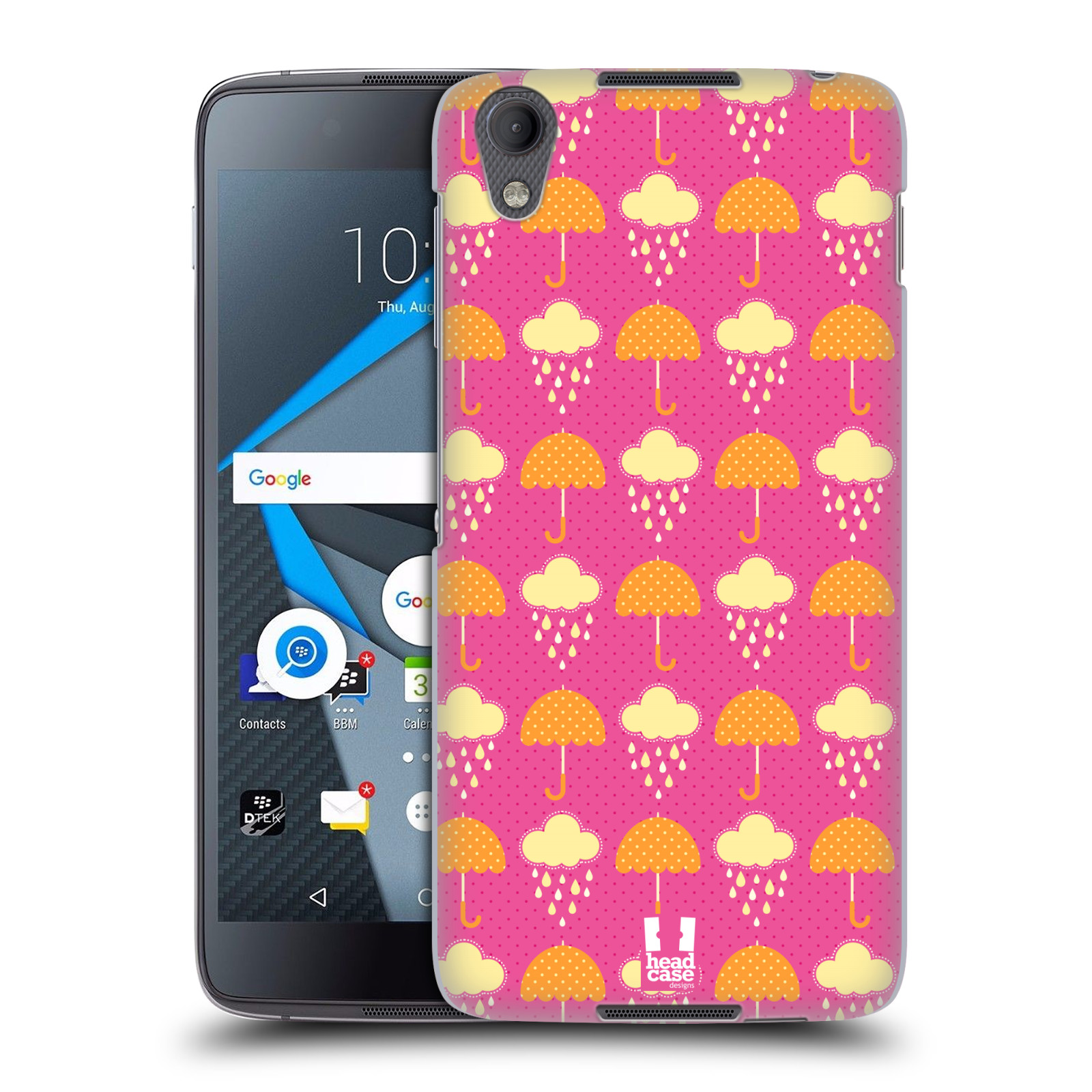 HEAD-CASE-DESIGNS-CLOUD-PATTERNS-HARD-BACK-CASE-FOR-BLACKBERRY-DTEK50-NEON