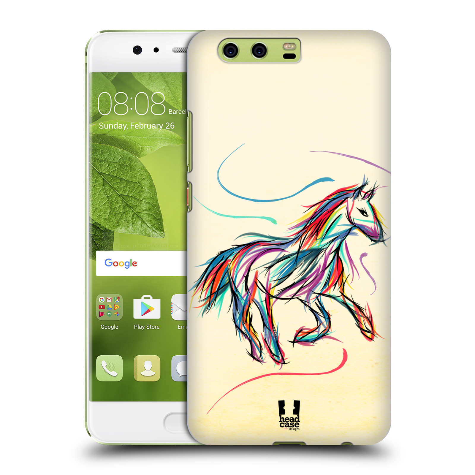 custodia colorata huawei p10 plus