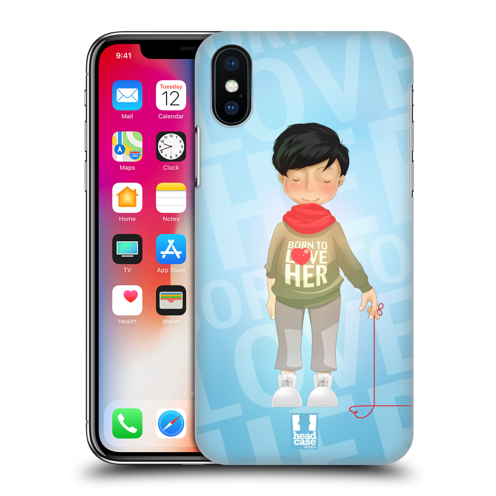 HEAD-CASE-DESIGNS-DIBUJOS-ANIMADOS-DE-PAREJA-CASO-PARA-APPLE-iPHONE-TELEFONOS