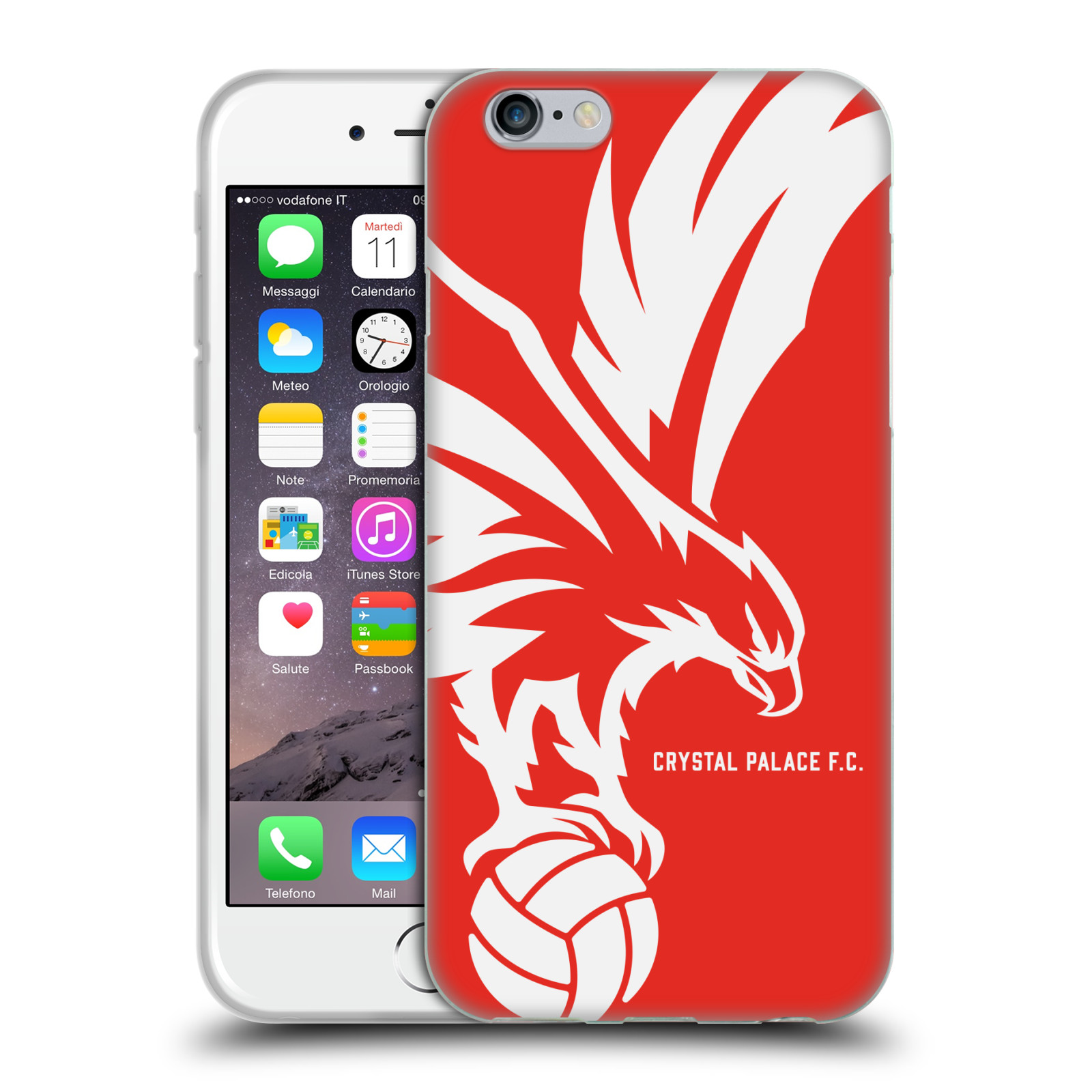 CRYSTAL-PALACE-FC-2017-18-CREST-AND-PATTERNS-GEL-CASE-FOR-APPLE-iPHONE-PHONES