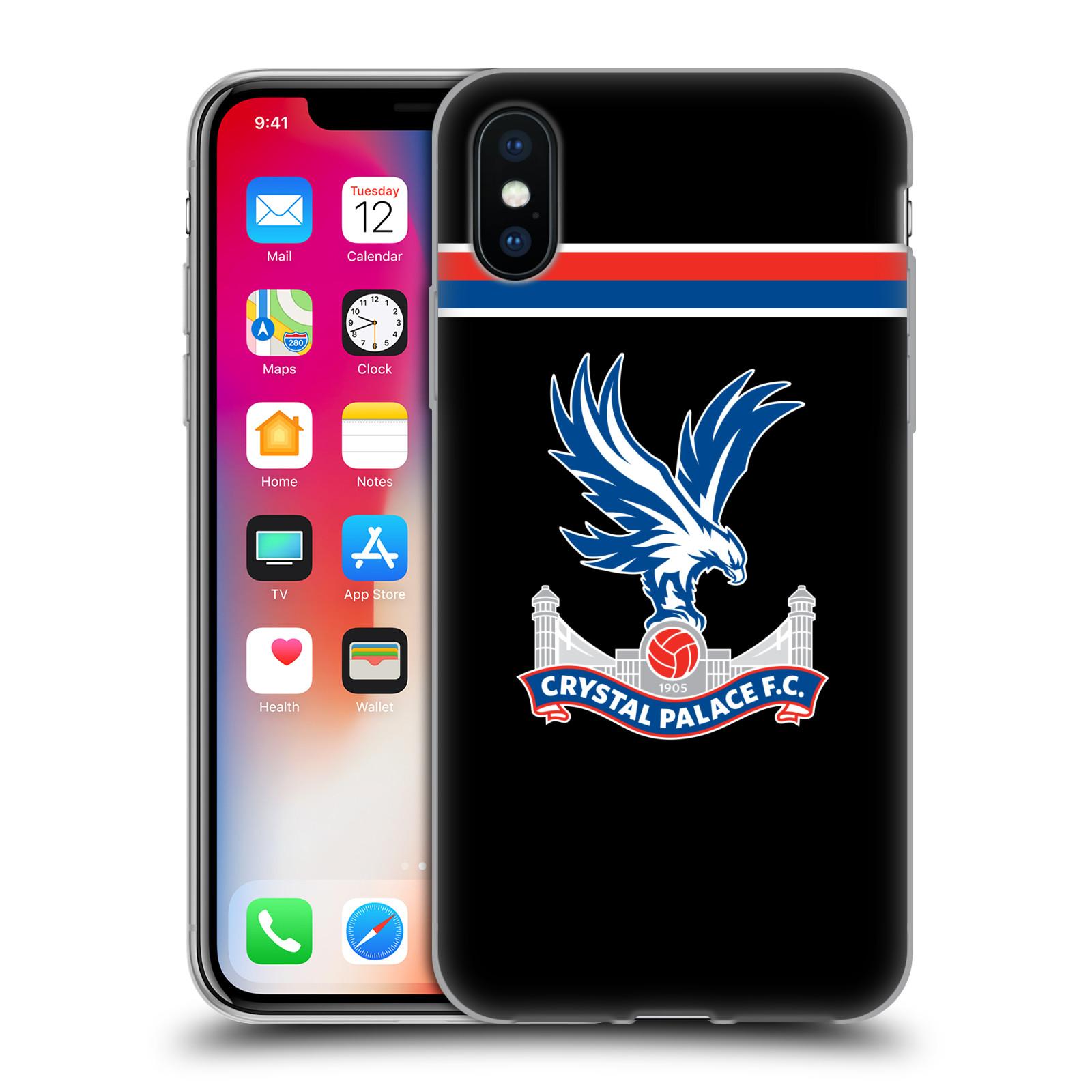 Oficial-Crystal-Palace-FC-2017-18-jugadores-Kit-Gel-caso-para-Apple-Iphone-Telefonos
