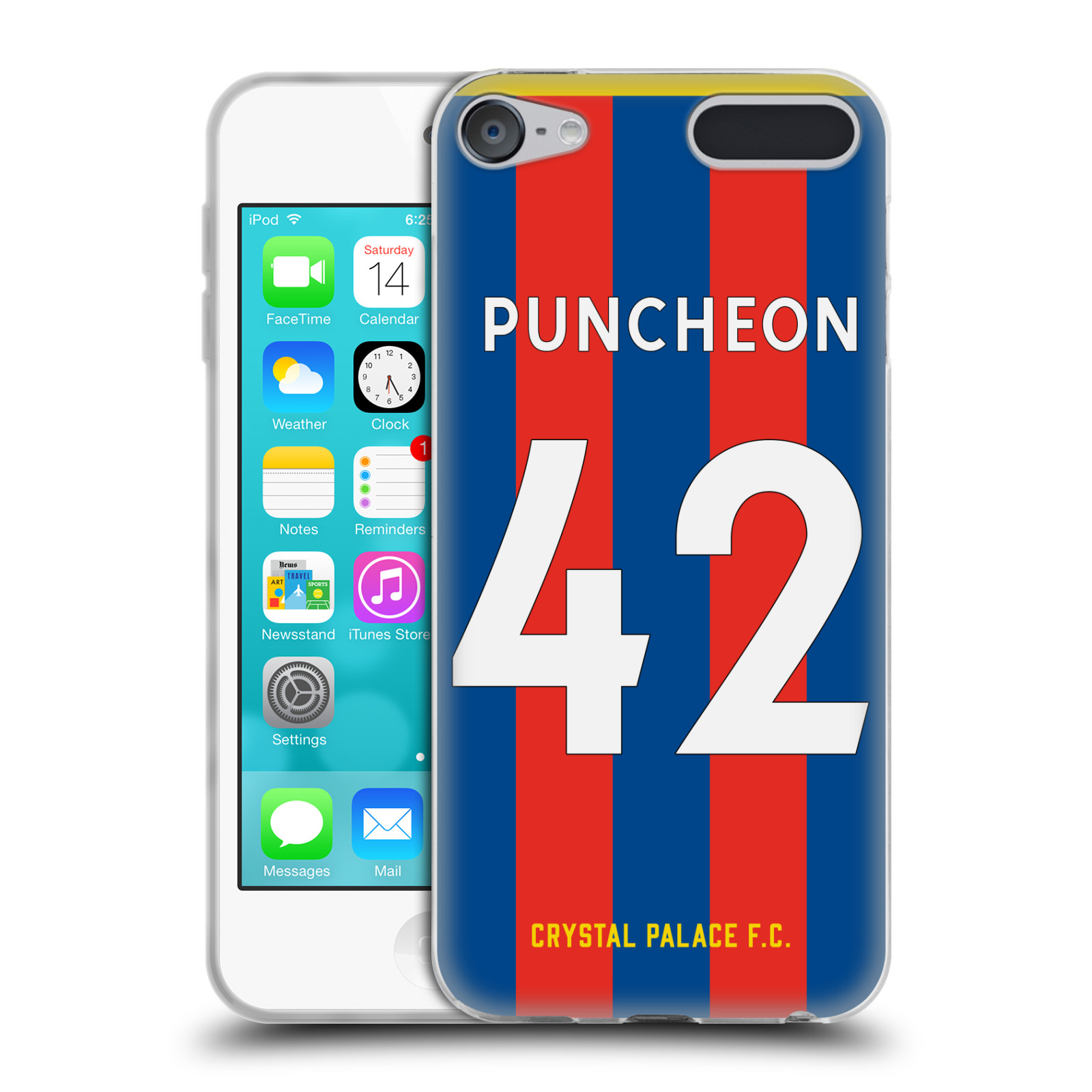 Oficial-Crystal-Palace-FC-2017-18-Home-Kit-1-Gel-caso-para-Apple-iPod-Touch-MP3