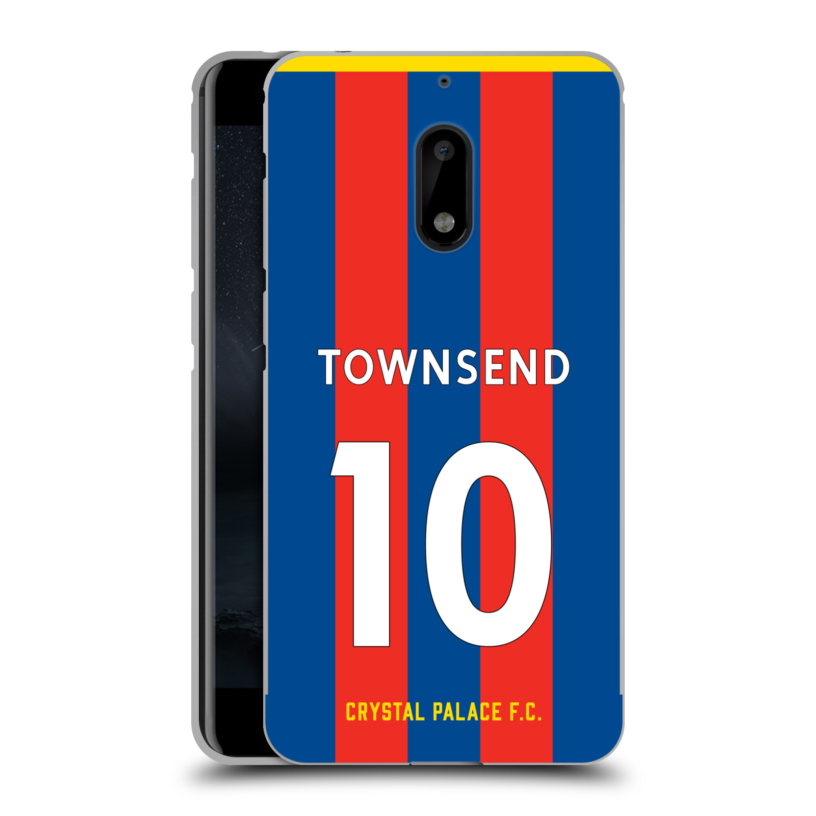 CRYSTAL-PALACE-FC-2017-18-HOME-KIT-1-BLACK-METALLIC-ALUMINIUM-FOR-NOKIA-PHONES
