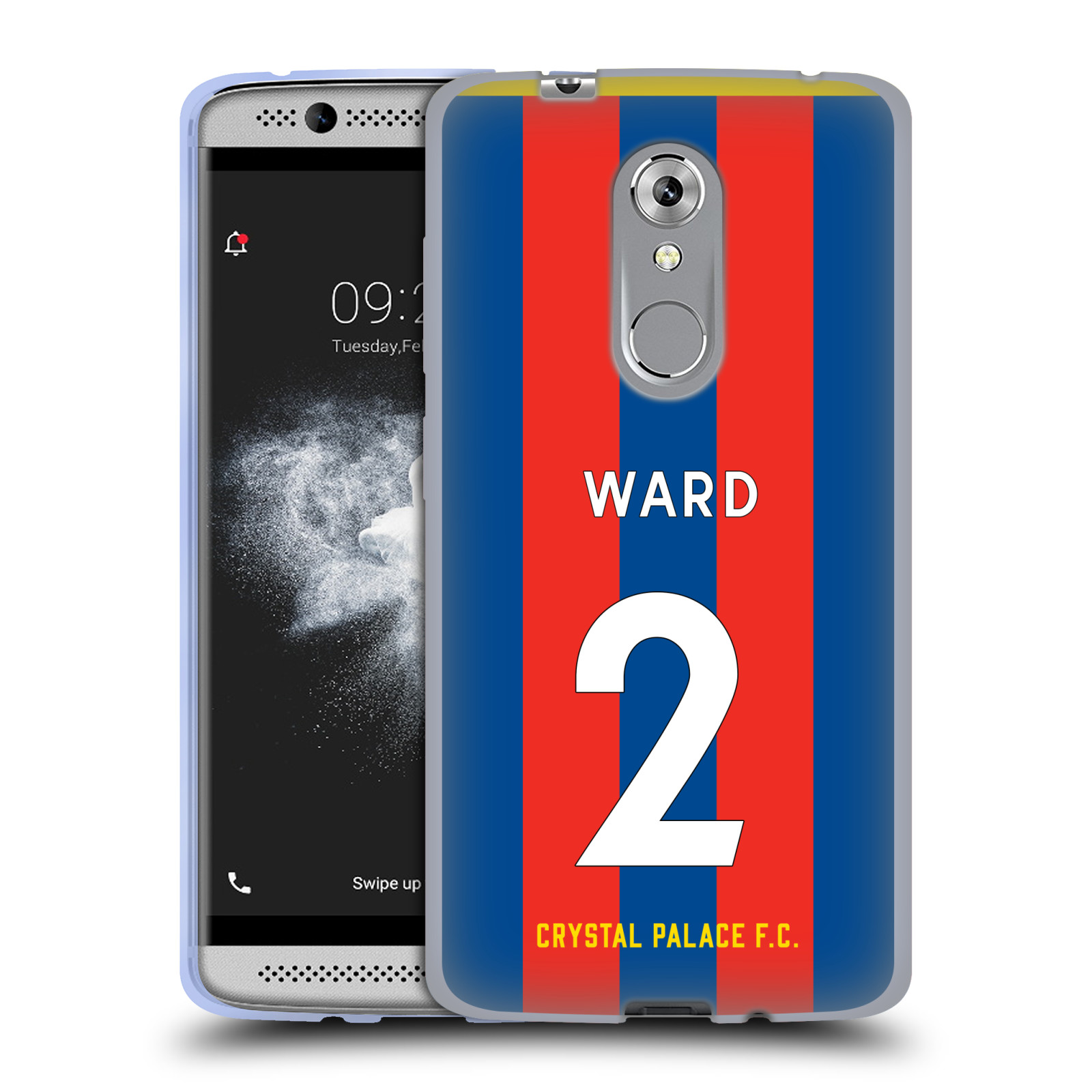 OFFICIAL-CRYSTAL-PALACE-FC-2017-18-PLAYERS-HOME-KIT-2-GEL-CASE-FOR-ZTE-PHONES