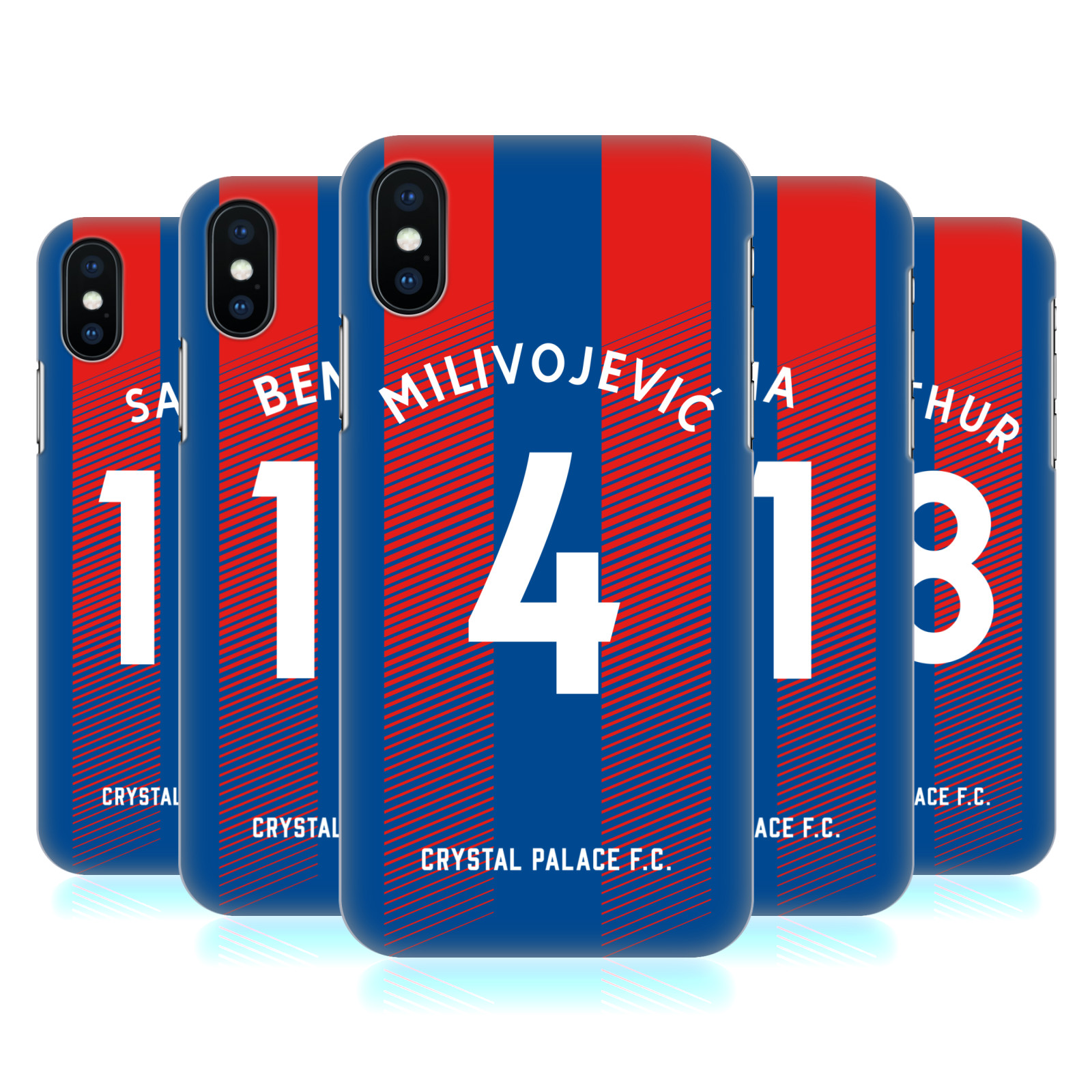 Crystal Palace FC 2018/19 Players Home Kit Group 1