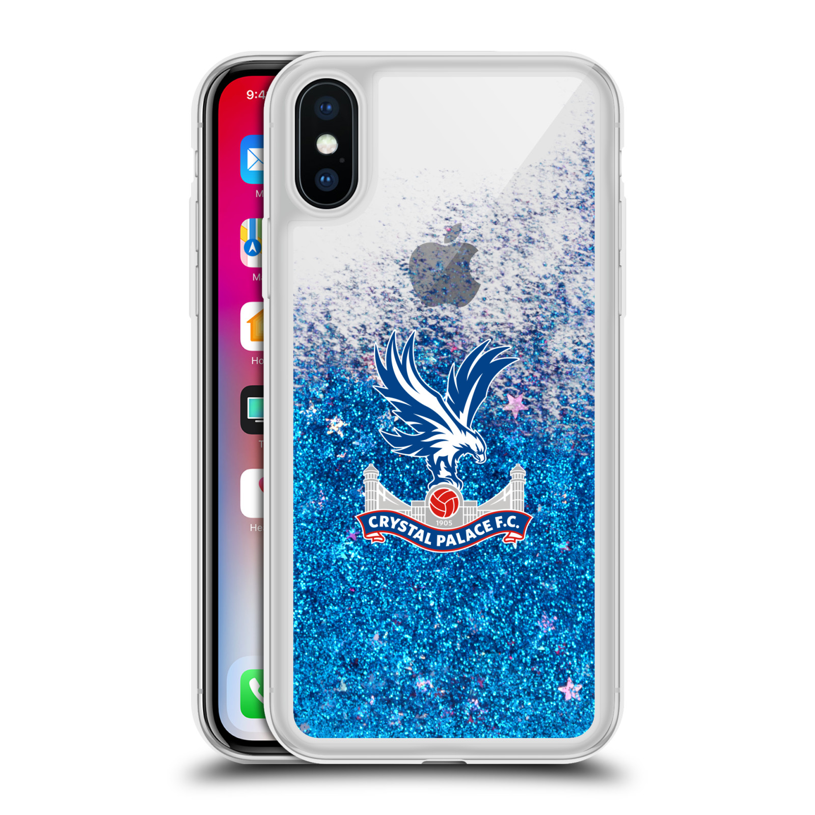 CRYSTAL-PALACE-FC-VARIOUS-DESIGNS-BLUE-HYBRID-LIQUID-GLITTER-FOR-iPHONE-PHONES