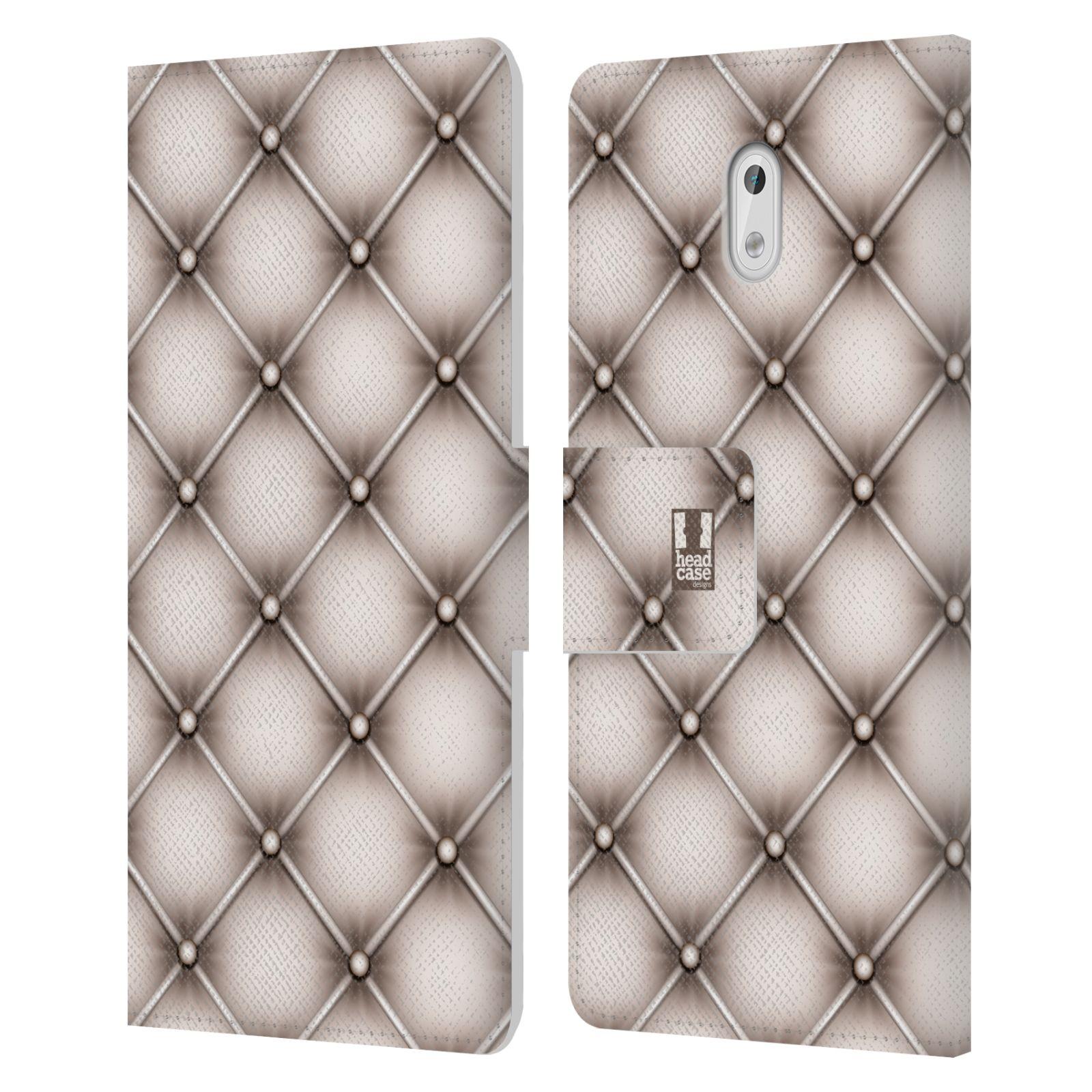 head case designs kissen brieftasche handyh lle aus leder f r nokia 3 ebay. Black Bedroom Furniture Sets. Home Design Ideas
