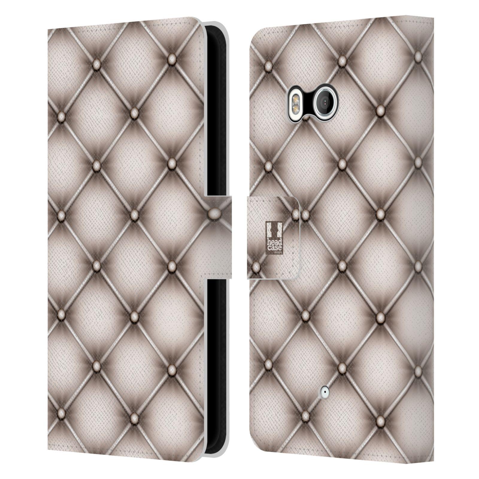 head case designs kissen brieftasche handyh lle aus leder f r htc u11 dual ebay. Black Bedroom Furniture Sets. Home Design Ideas