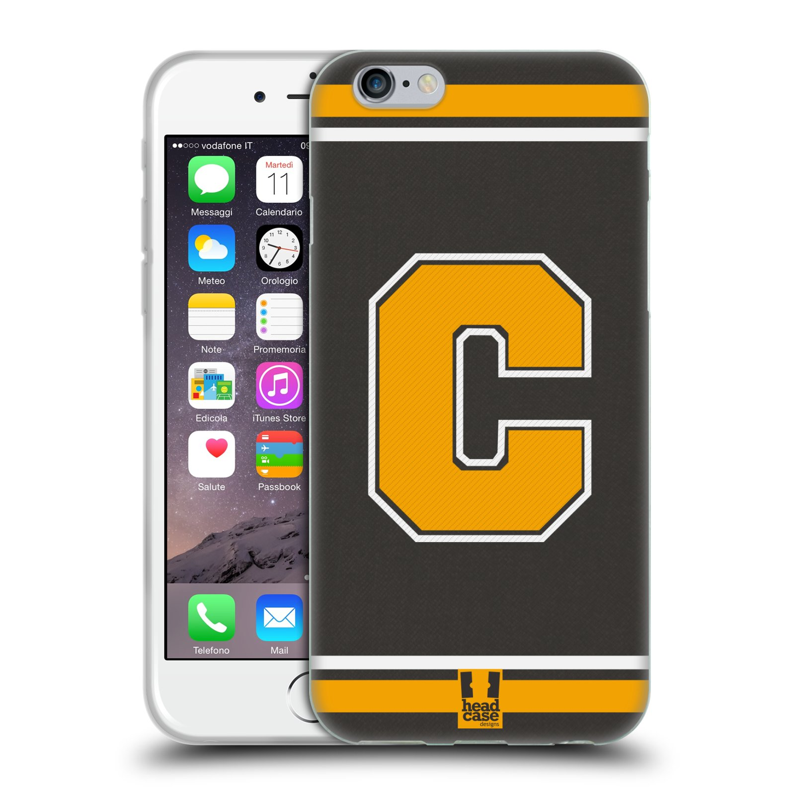 HEAD-CASE-DESIGNS-TEAM-DEL-COLLEGE-CASE-IN-GEL-PER-APPLE-iPHONE-TELEFONI