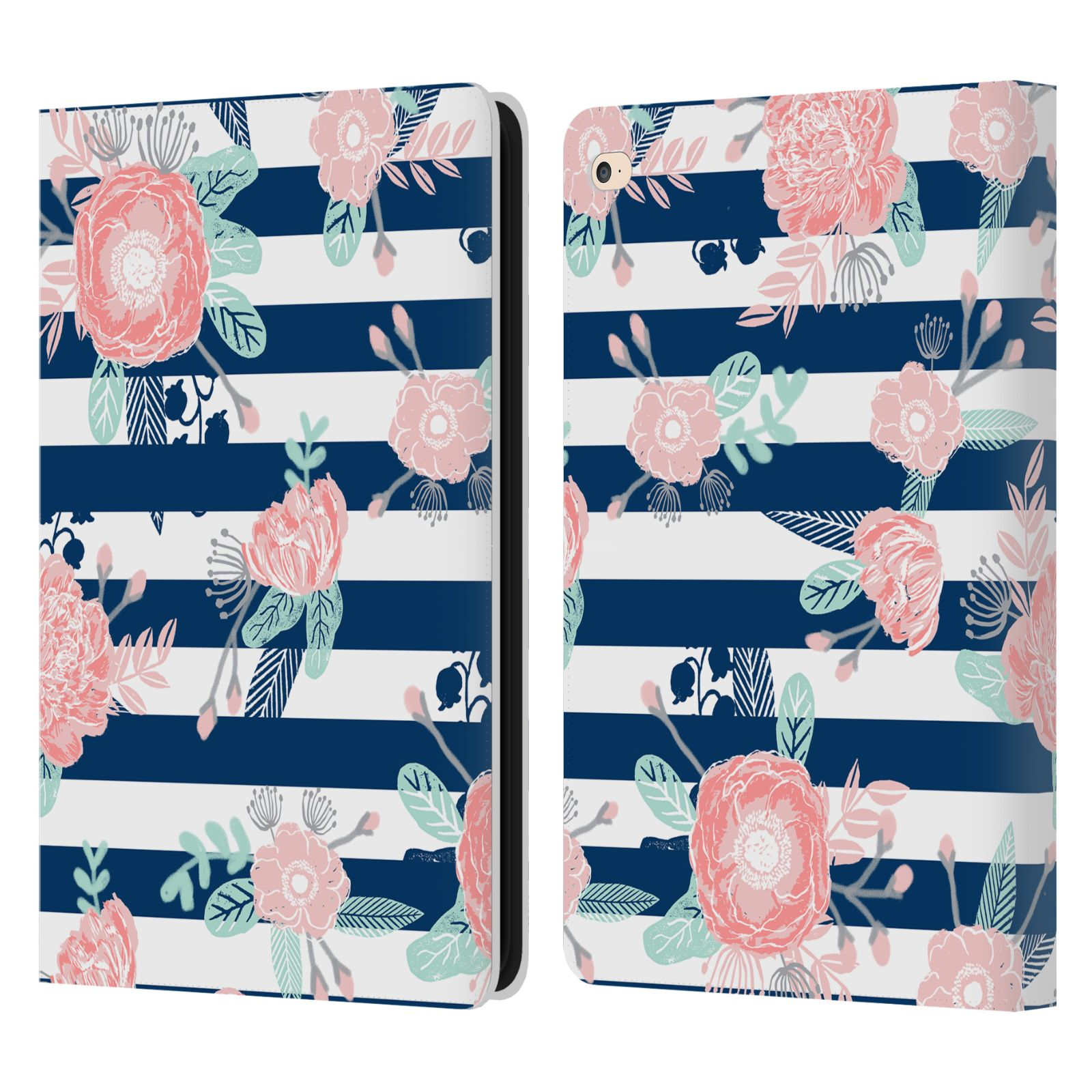 official charlotte winter floral leather book wallet case cover
