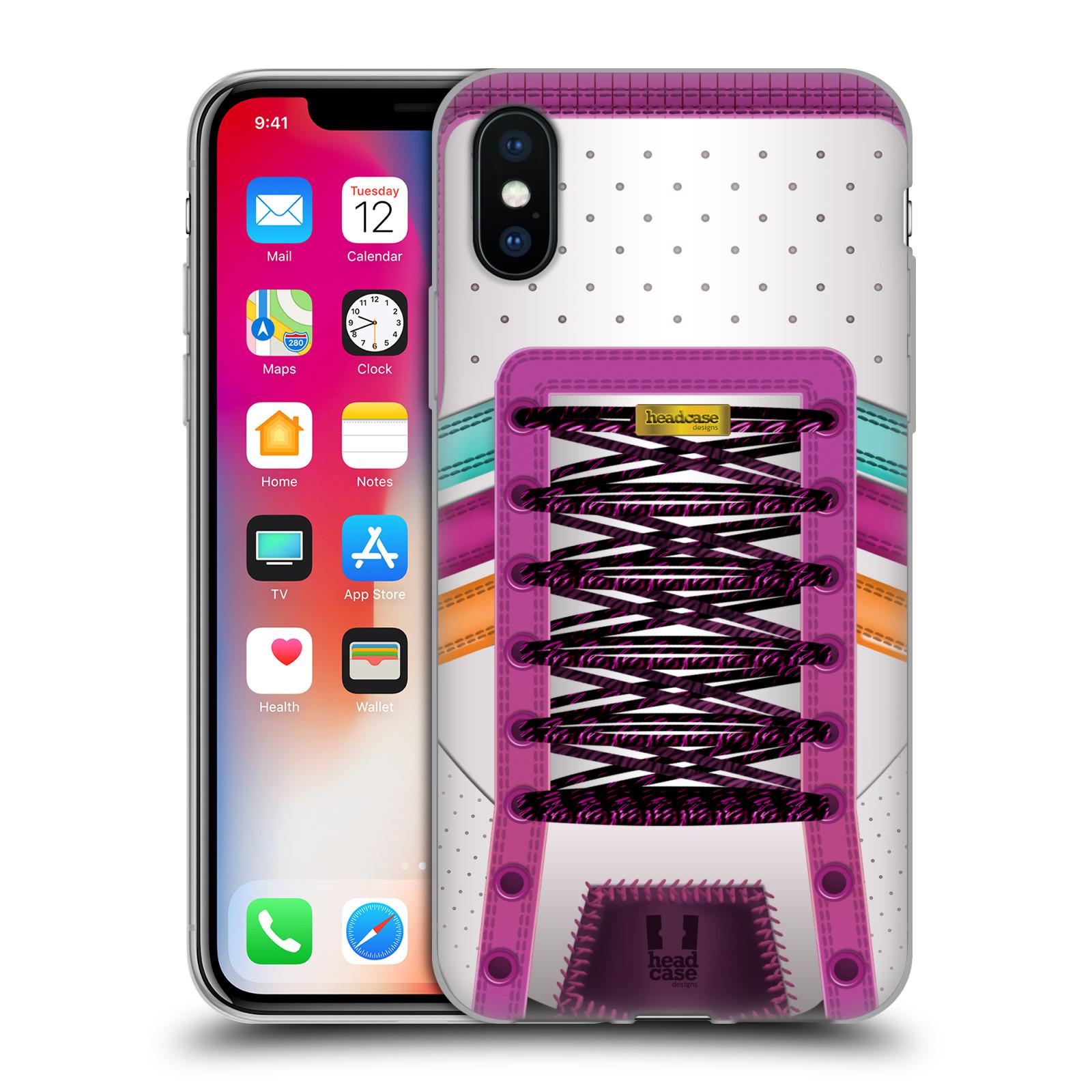 Diseños de caso Zapatos de baile suave HEAD Gel caso para APPLE iPHONE X
