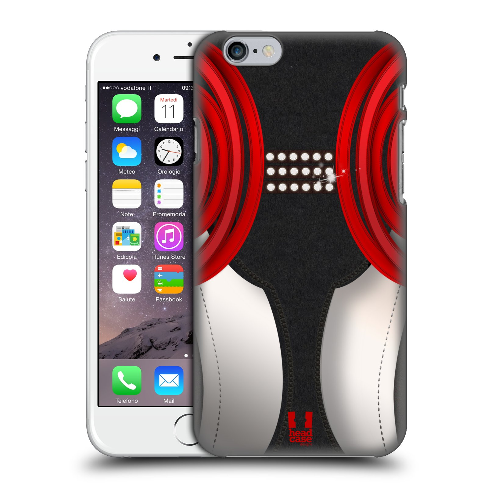 Diseños de caso Zapatos De Baile Duro HEAD Funda trasera para teléfonos APPLE iPHONE