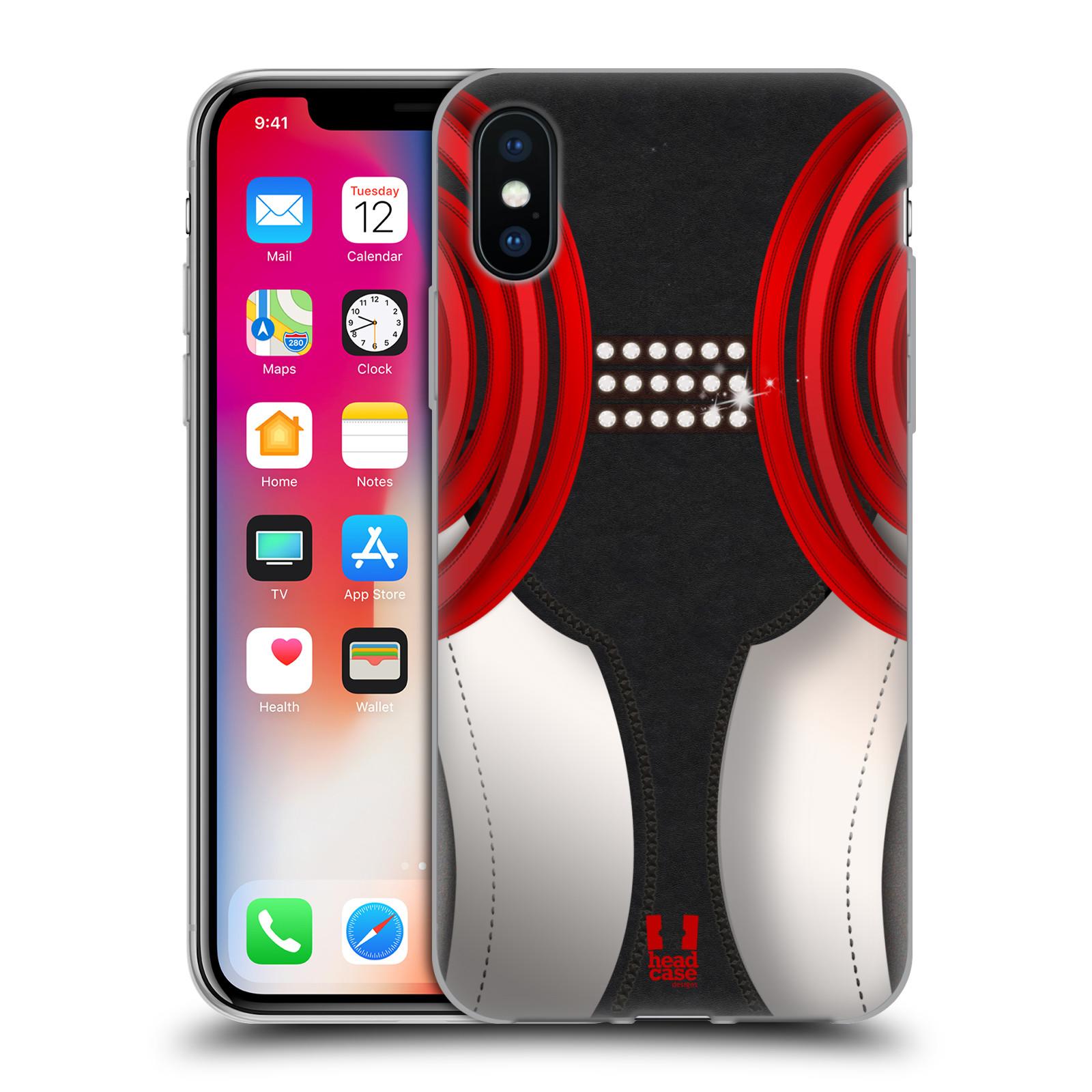 HEAD CASE DESIGNS TANZSCHUHE SOFT GEL HÜLLE FÜR APPLE iPHONE X