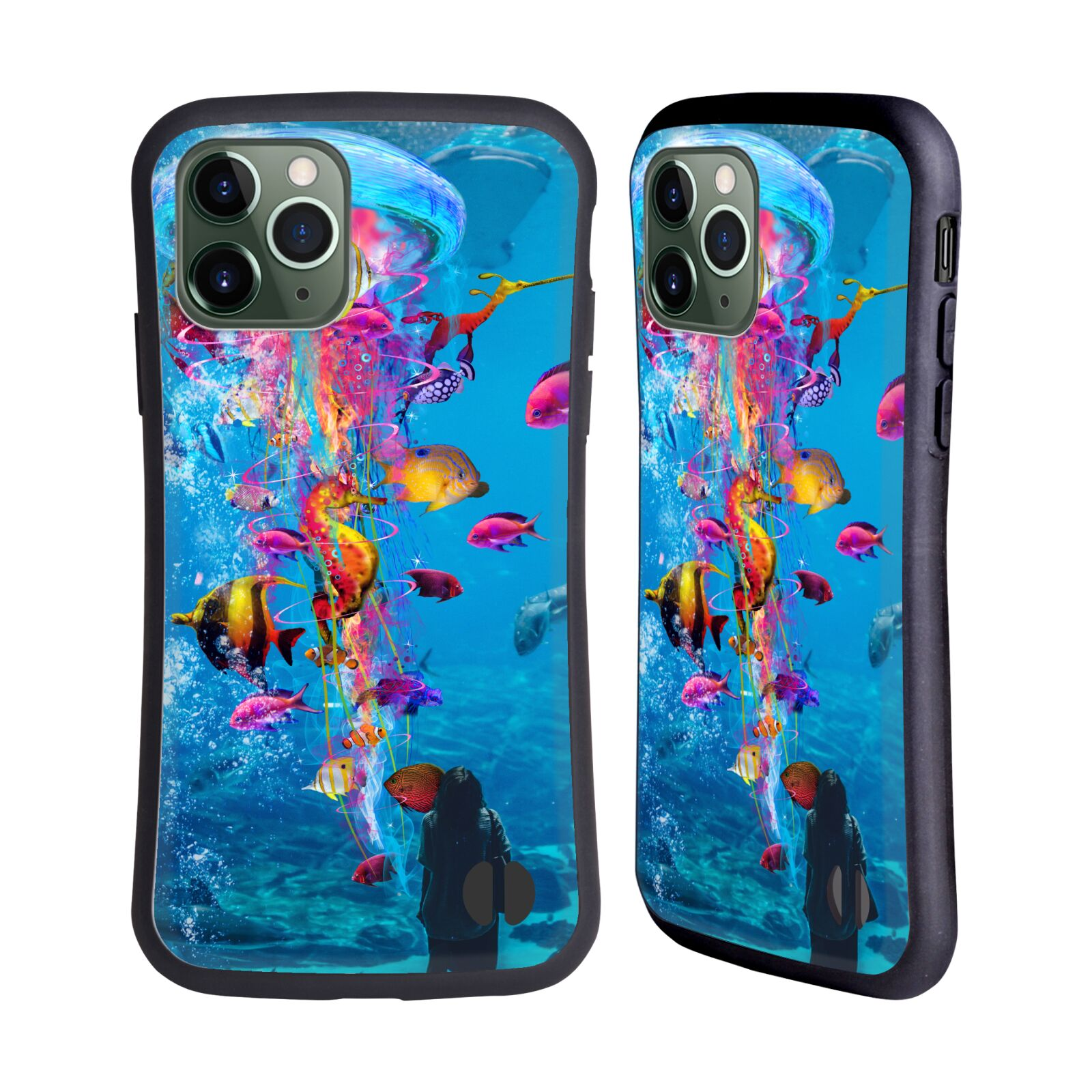 Official Dave Loblaw Underwater Aquarium Hybrid Case for Apple iPhone 11 Pro