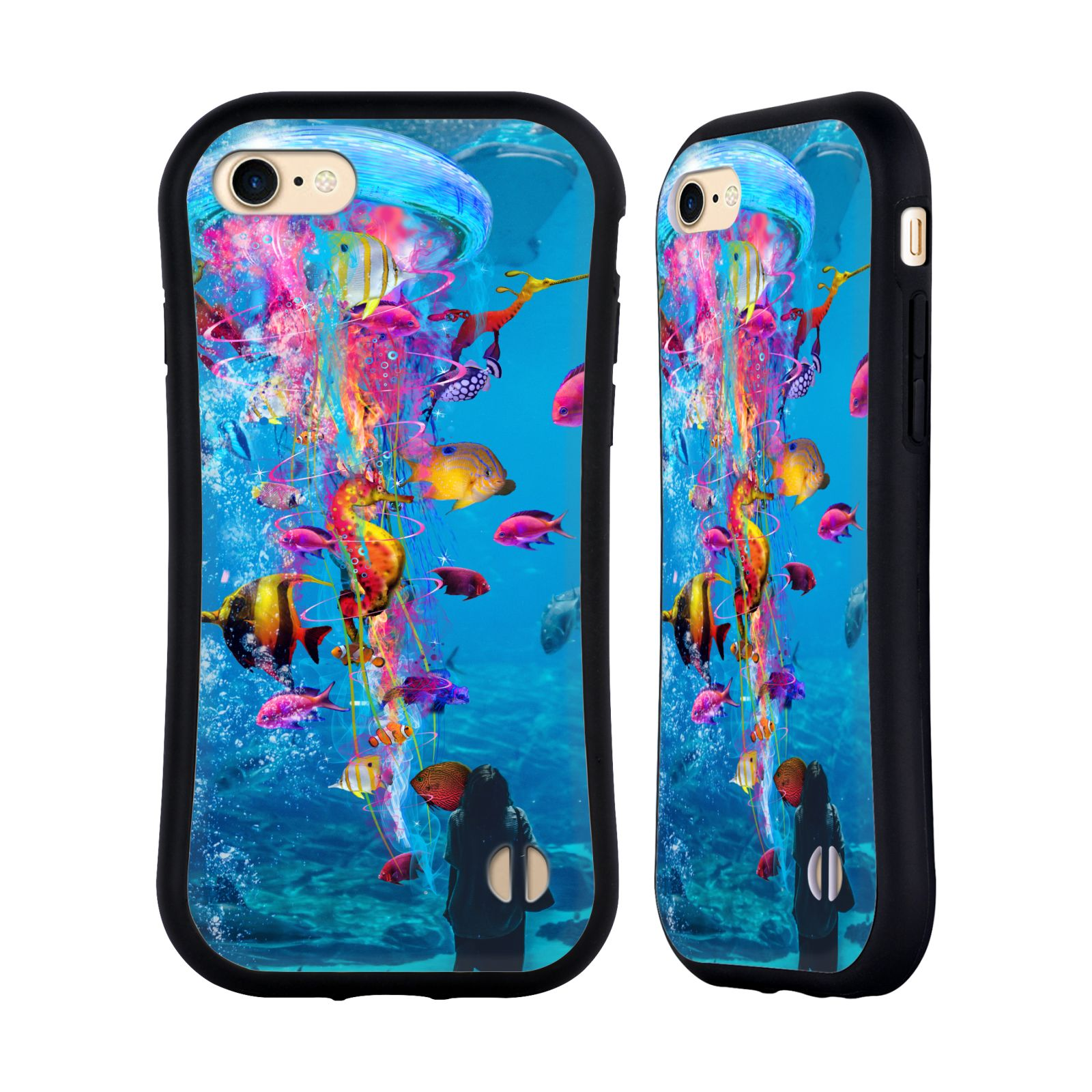 Official Dave Loblaw Underwater Aquarium Hybrid Case for Apple iPhone 7 / 8 / iPhone SE 2020