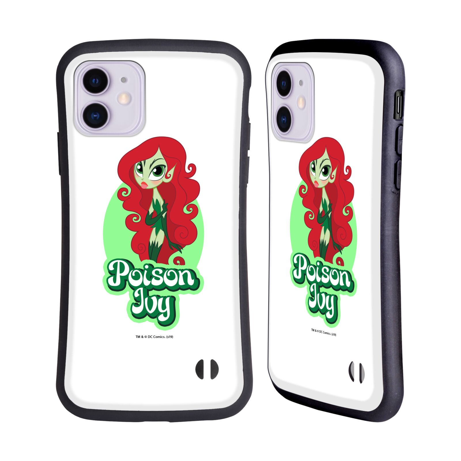 Official DC Super Hero Girls Characters Poison Ivy Hybrid Case for Apple iPhone 11