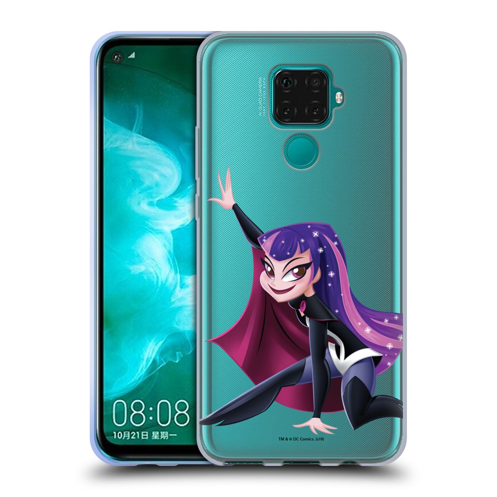 Official DC Super Hero Girls Rendered Characters Zatanna Gel Case for Huawei Nova 5z