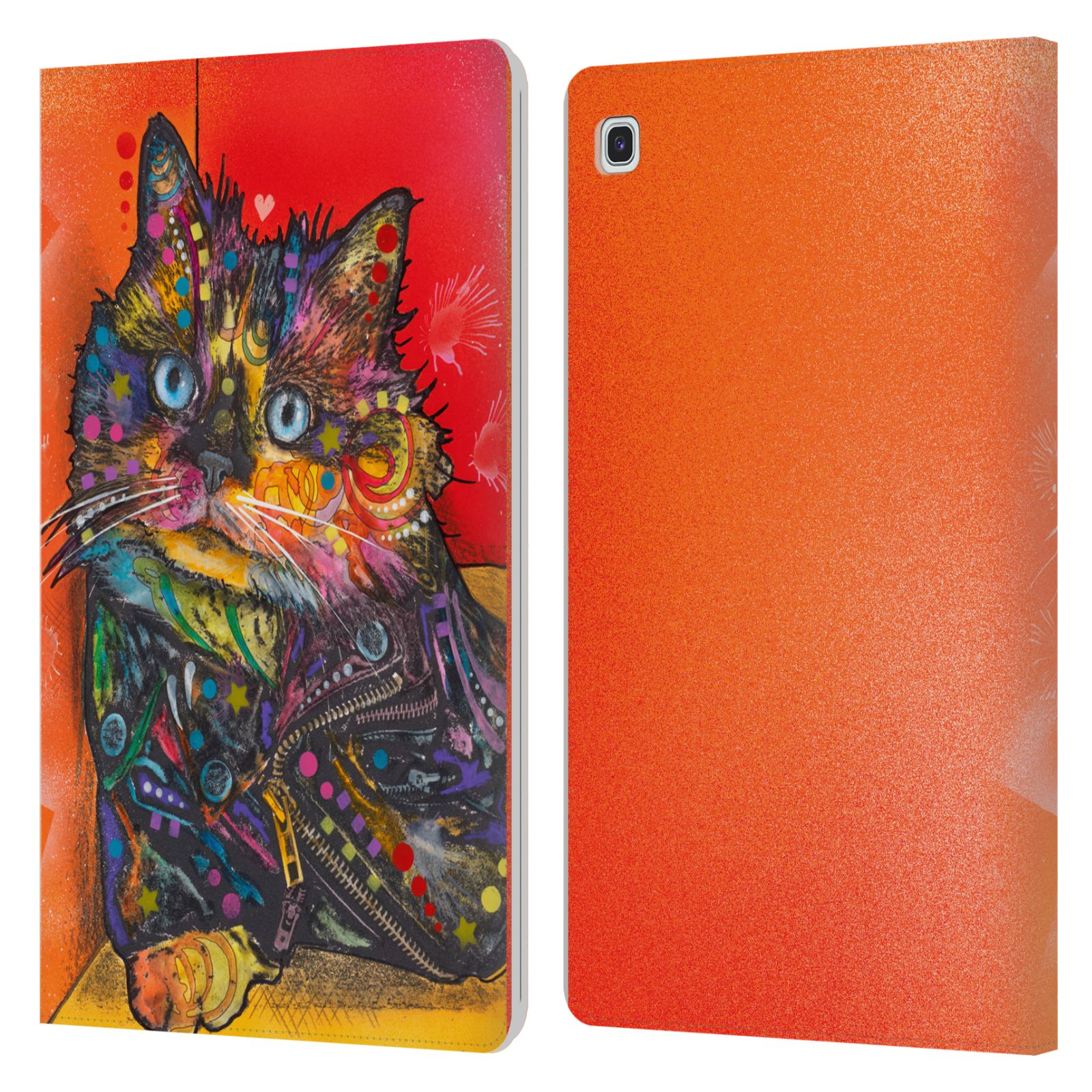 Official Dean Russo Cats Baby Albert Leather Book Wallet Case For Samsung Galaxy Tab S5e
