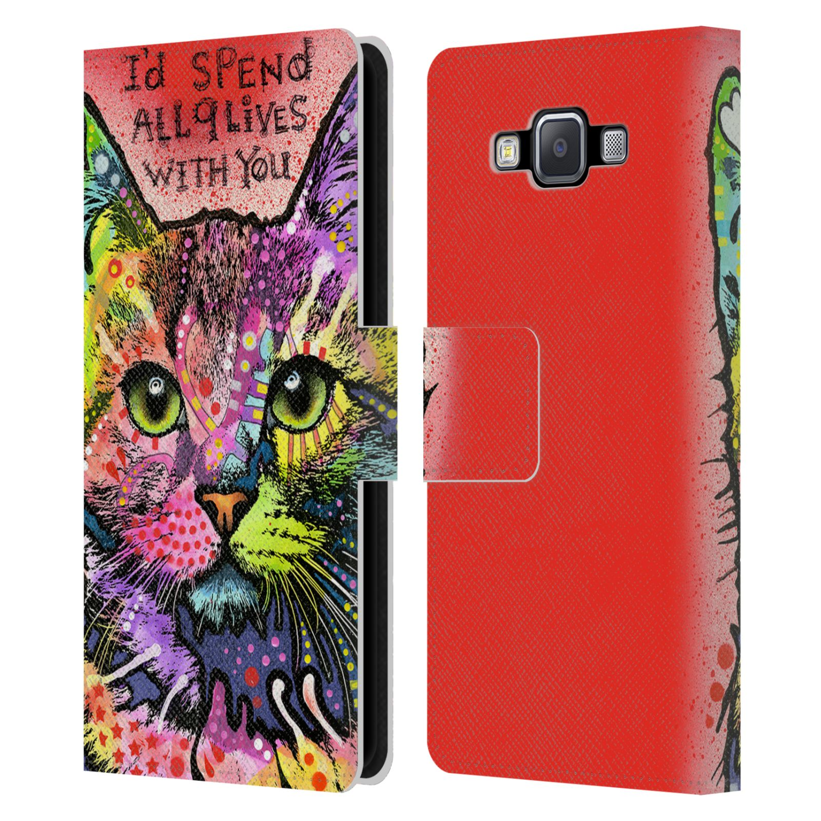 OFFICIAL-DEAN-RUSSO-CATS-2-LEATHER-BOOK-WALLET-CASE-COVER-FOR-SAMSUNG-PHONES-2