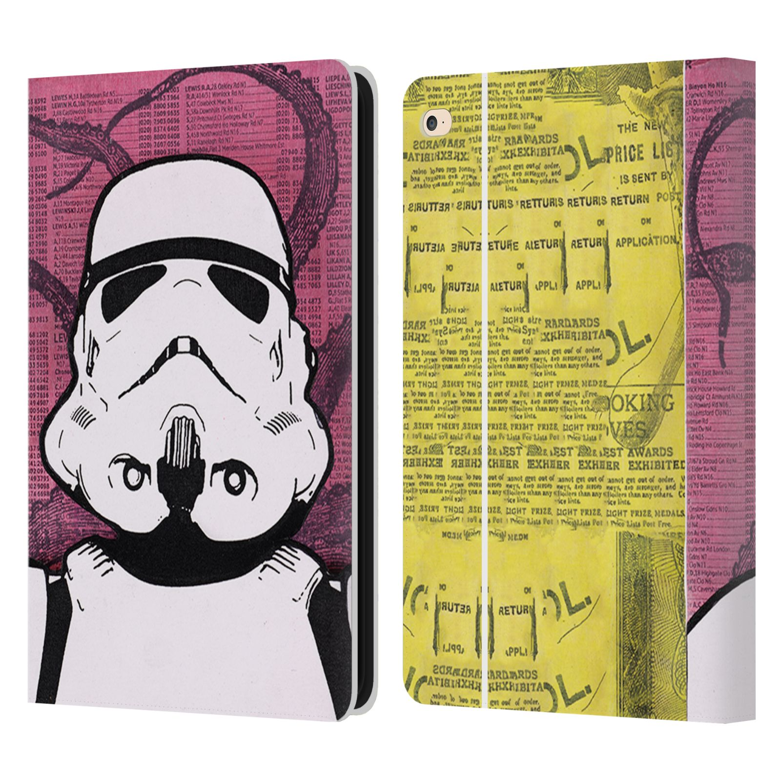 OFFICIEL-DEAN-RUSSO-CULTURE-POP-ETUI-COQUE-DE-LIVRE-EN-CUIR-POUR-APPLE-iPAD